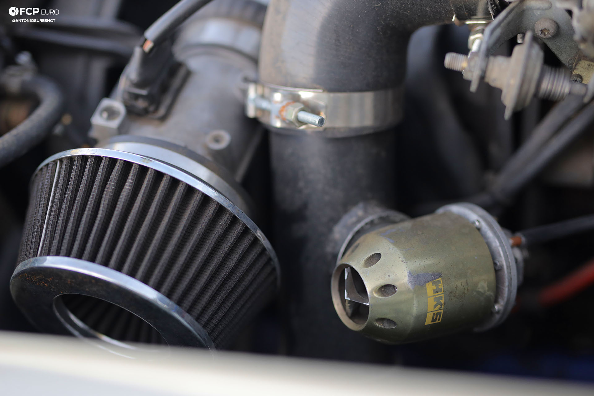 HKS blowoff valve Saab 900 Turbo