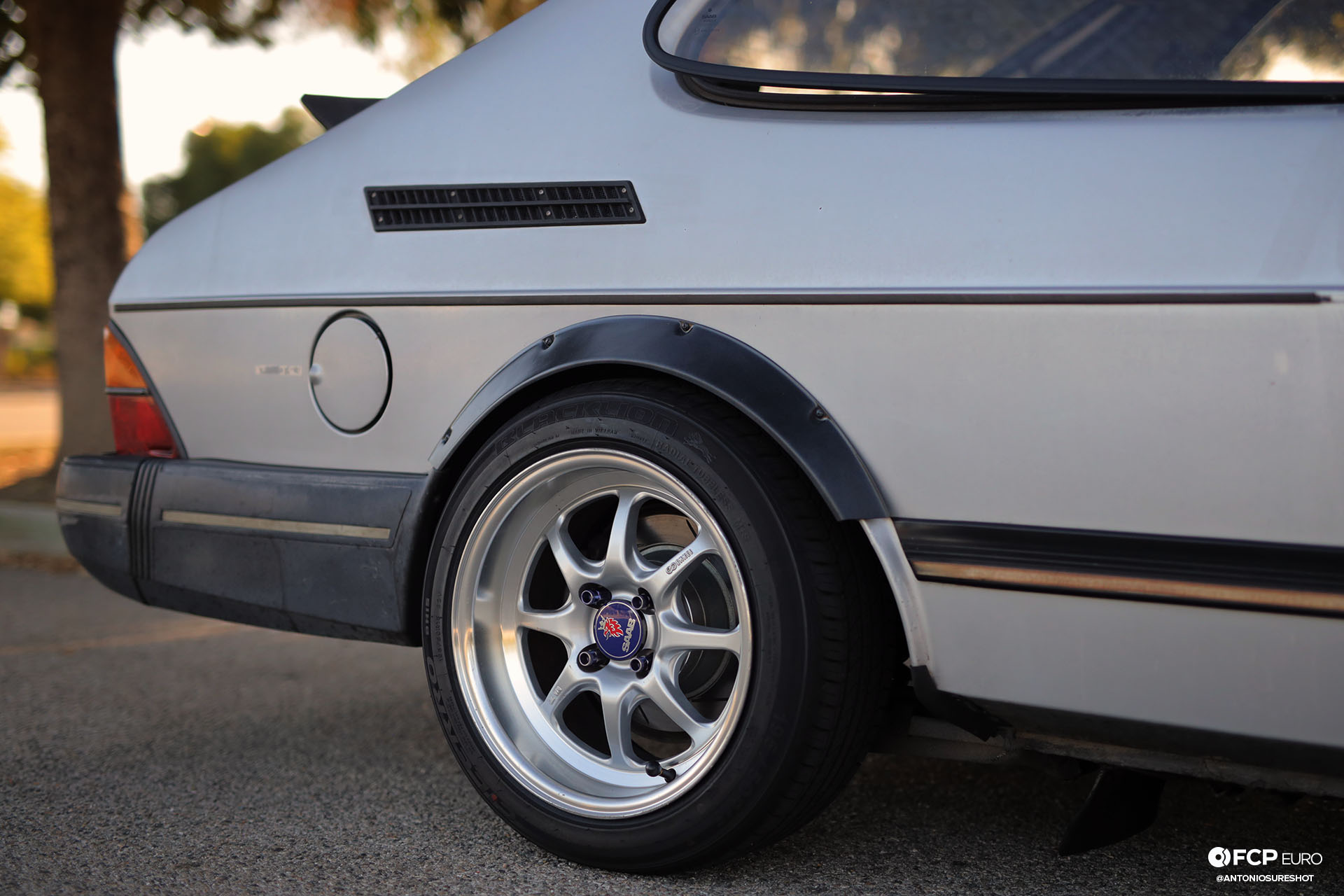 Enkei J Speed wheels Saab 900 Turbo