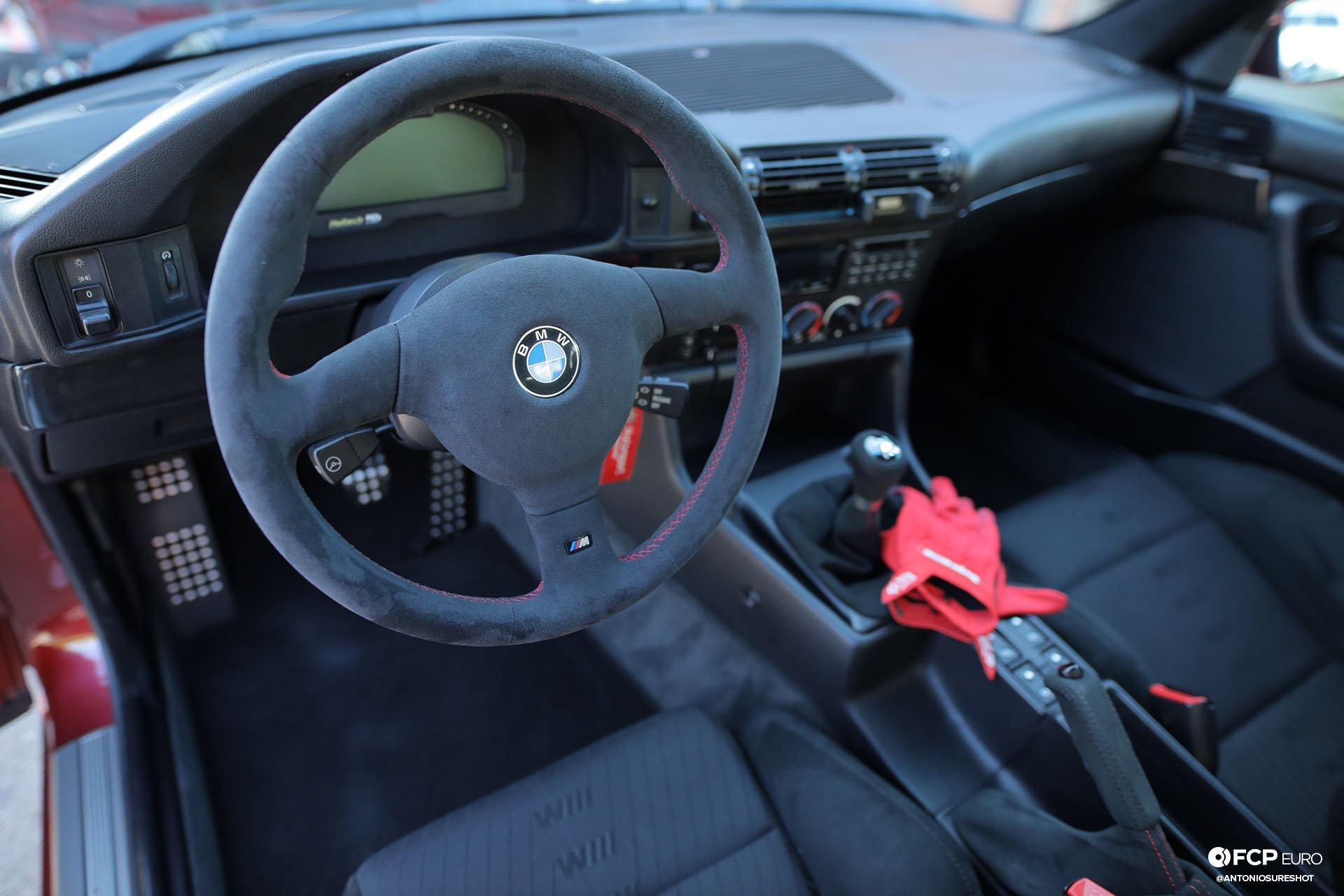 E34 BMW 540i M-Sport Haltech