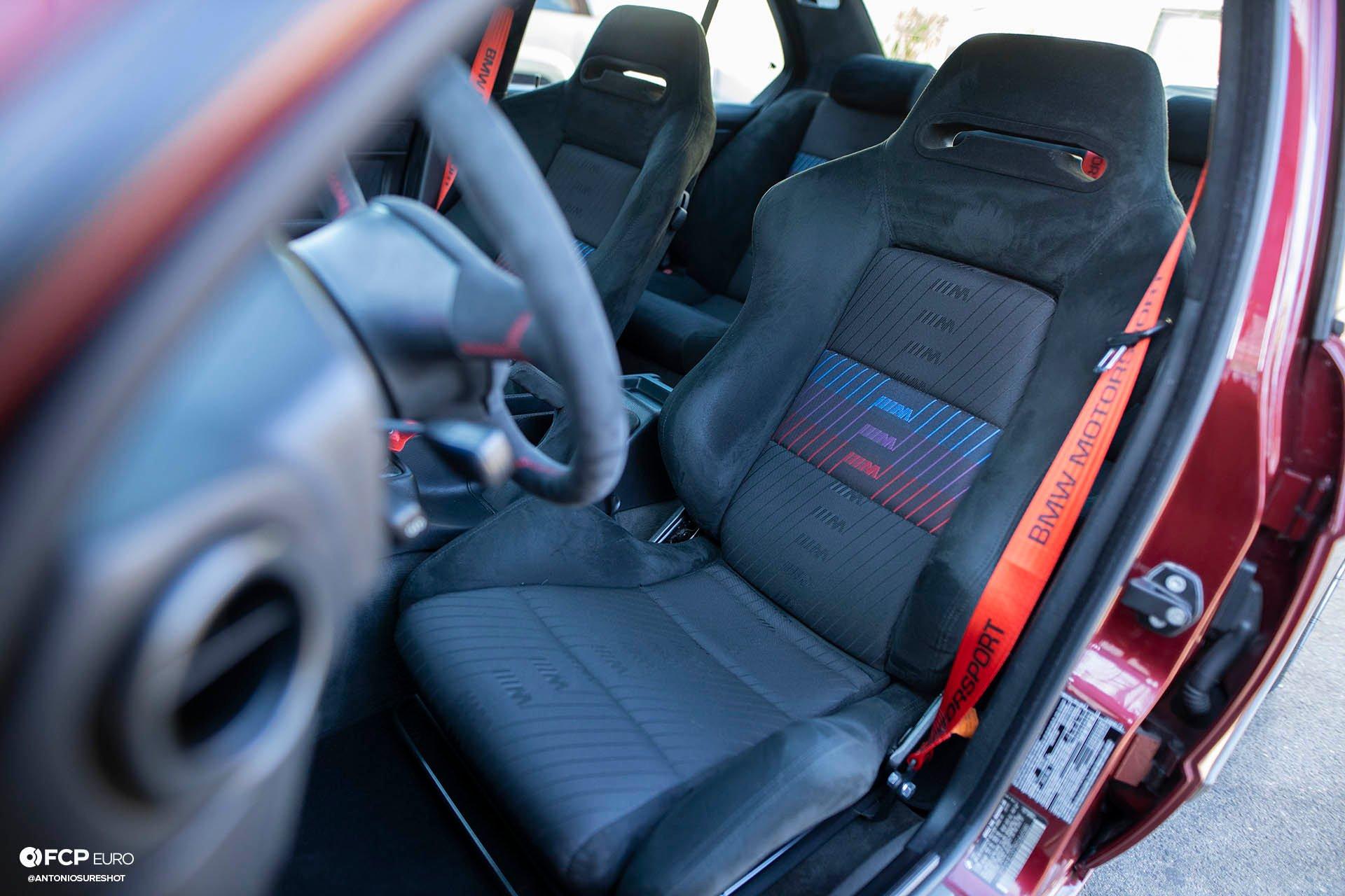 E34 BMW 540i M-Sport Recaro SRD