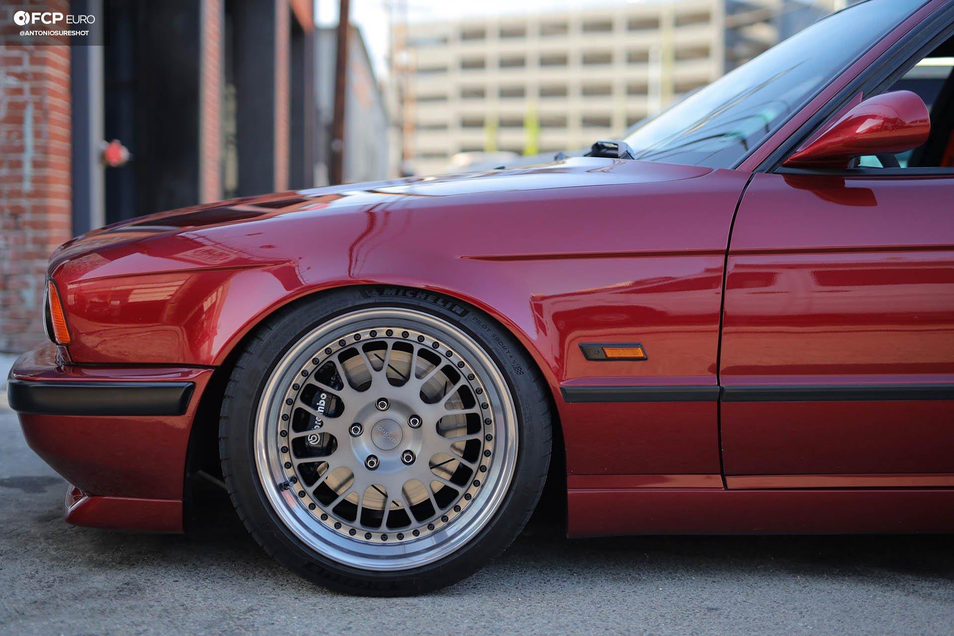 M60B44-Swapped M-Sport Monster – 1995 BMW E34 540i