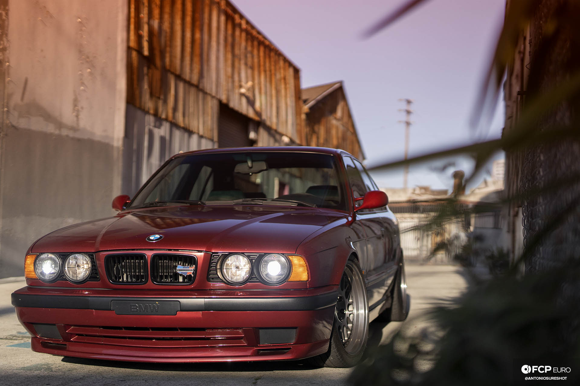 E34 BMW 540i M-Sport Rotiform Ground Control Eibach Koni