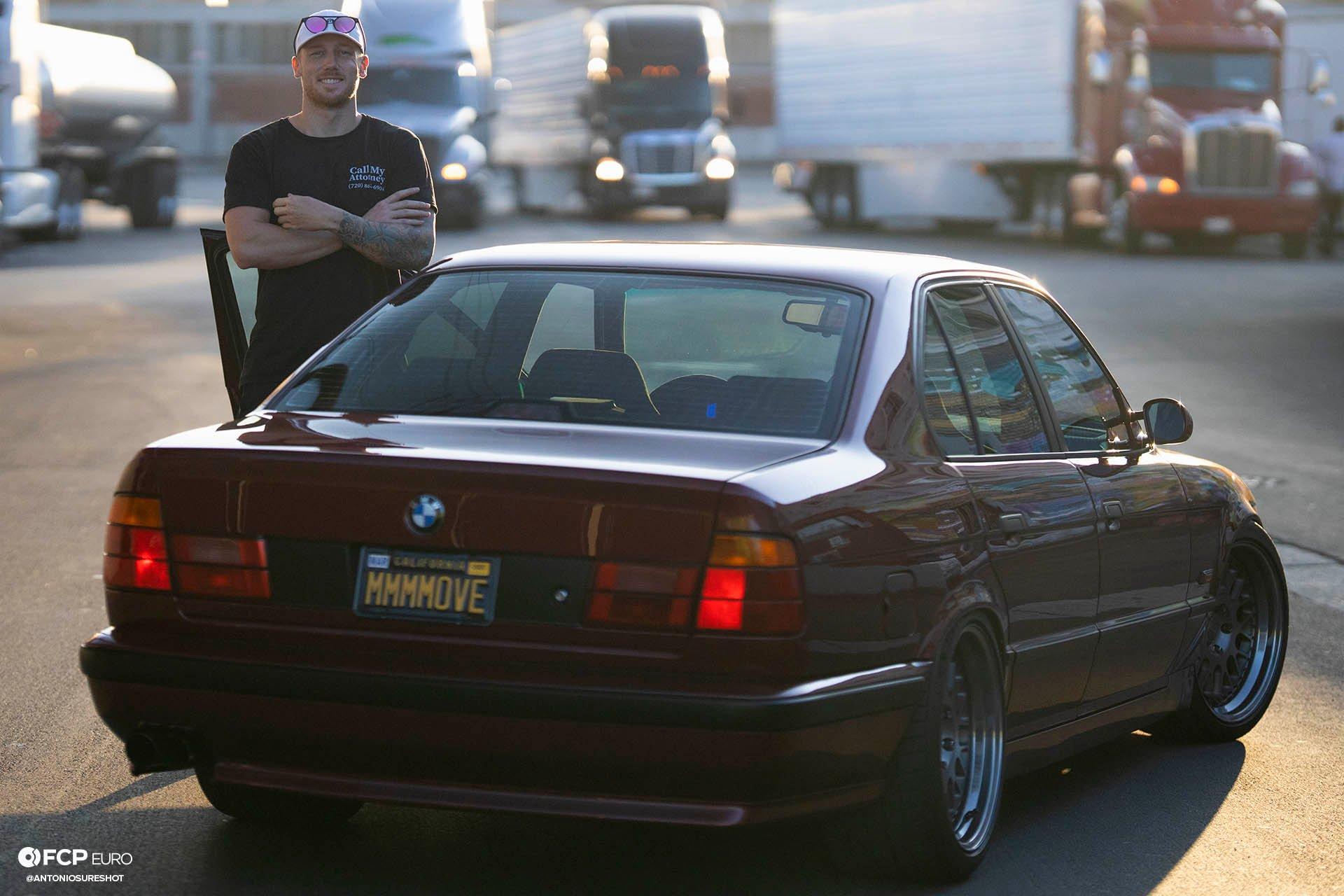 E34 BMW 540i M-Sport Rotiform Ground Control Eibach Koni Jason Grace