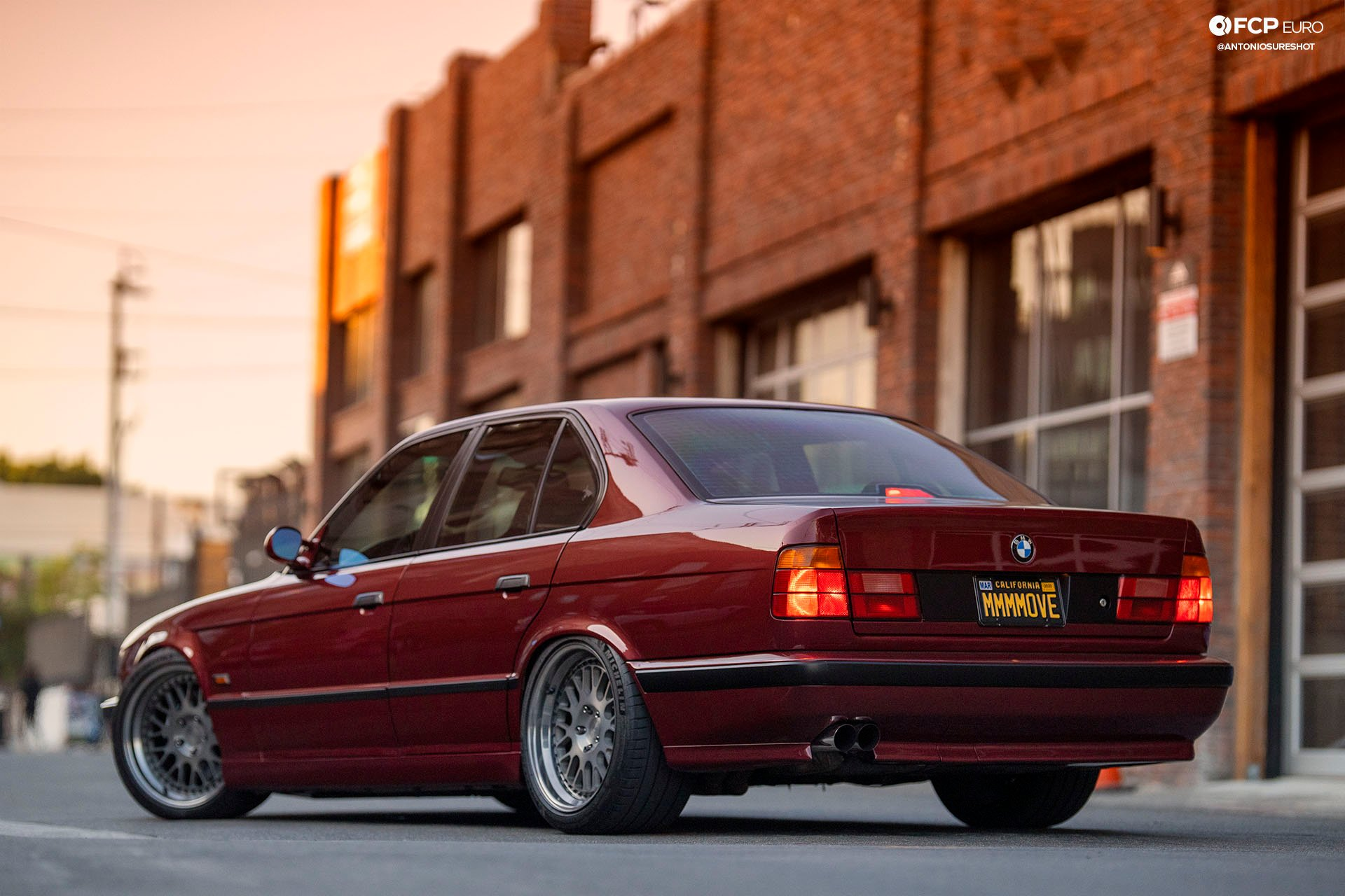 M60B44-Swapped M-Sport Monster – 1995 BMW E34 540i