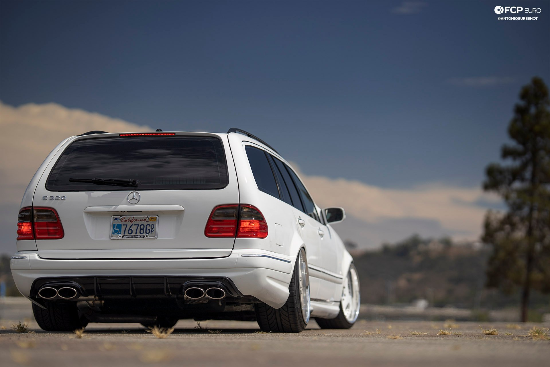 E320 Mercedes-Benz Estate wagon AMG E55 Engine Swap Wald Duchatelet Bilstein Bosch