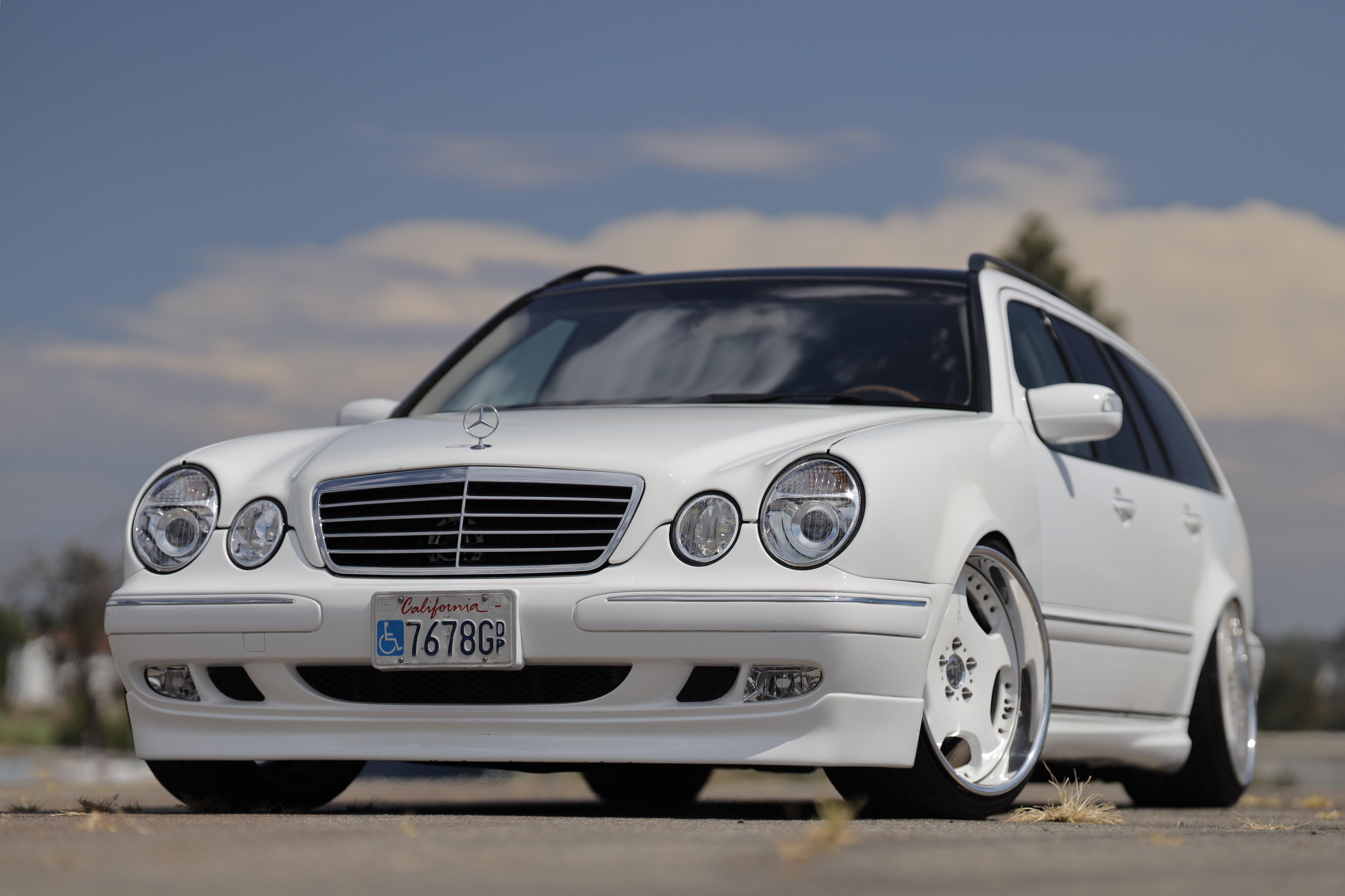 E320 Mercedes-Benz Estate wagon AMG E55 Engine Swap Brabus Wald Duchatelet Bilstein Bosch