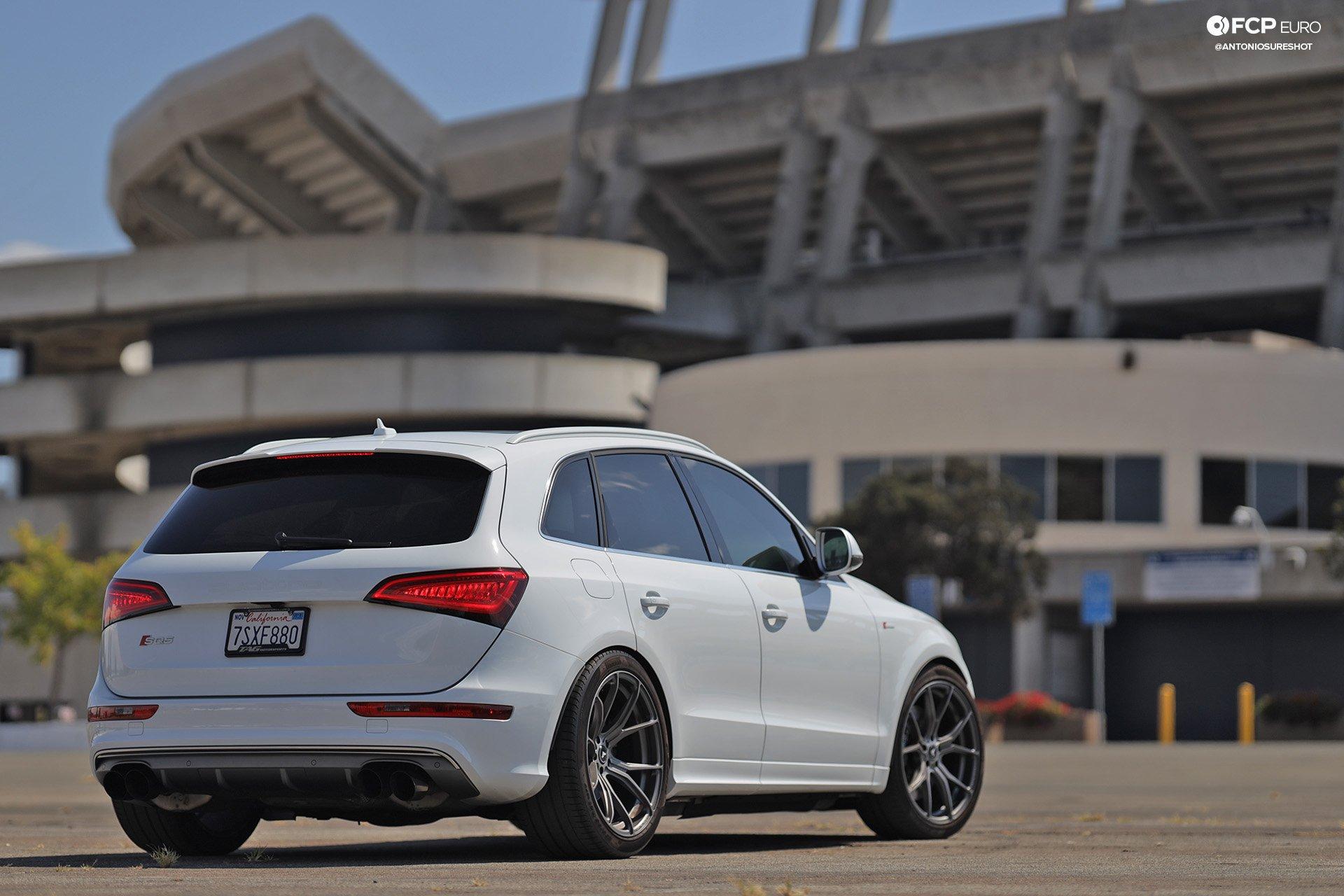 Audi SQ5 Vorsteiner Wheels Alcon Brakes