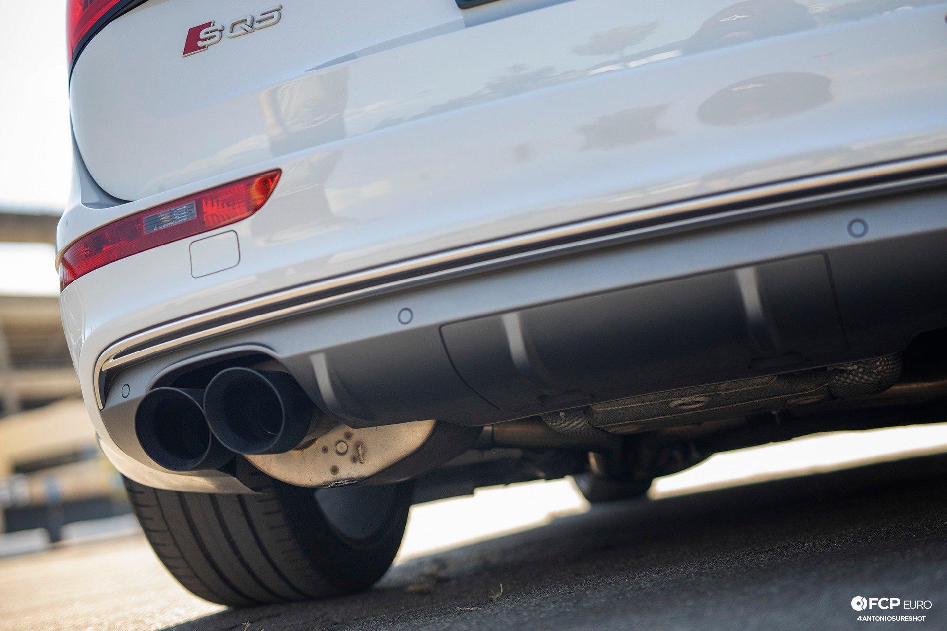 B8 Audi SQ5 Vorsteiner Wheels Alcon Brakes