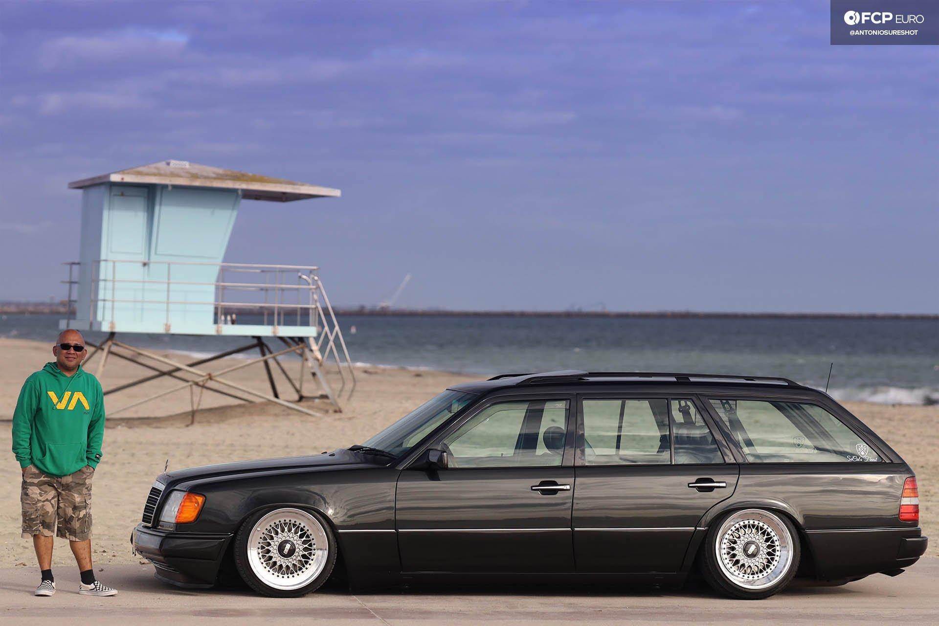 S124 Mercedes Benz E320 wagon BBS RS