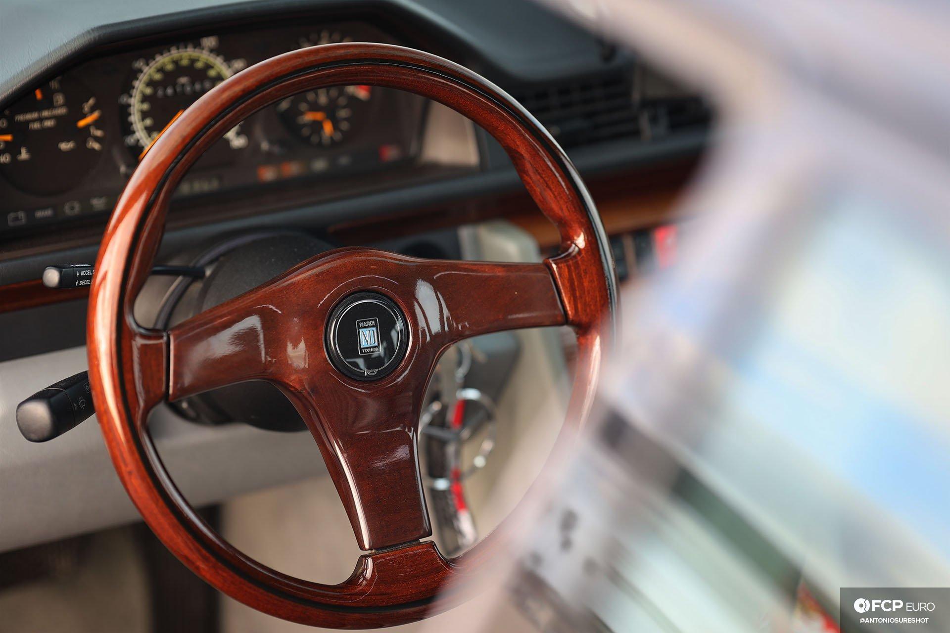 S124 Mercedes Benz E320 wagon Nardi Gara 3