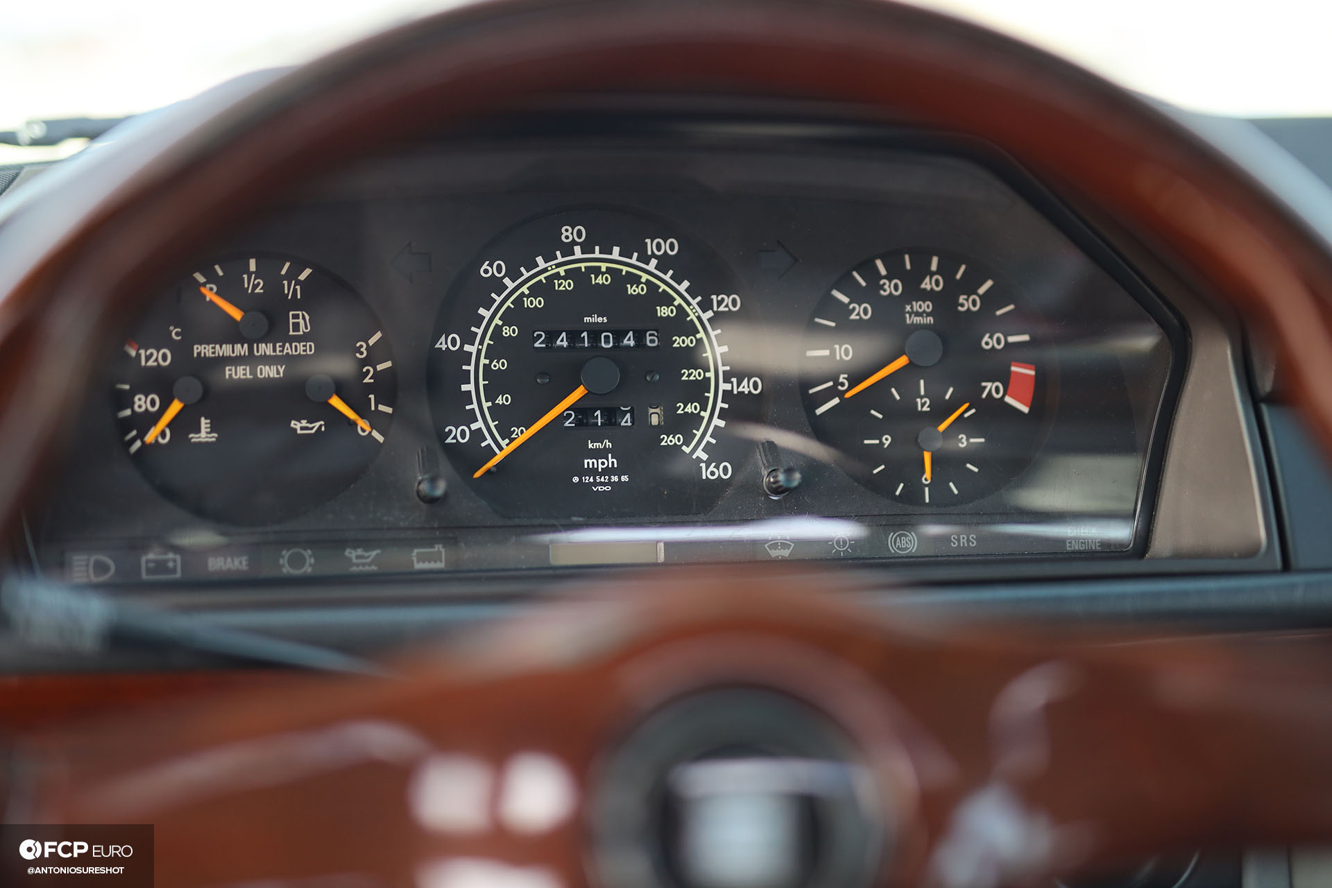 S124 Mercedes Benz E320 wagon high mileage