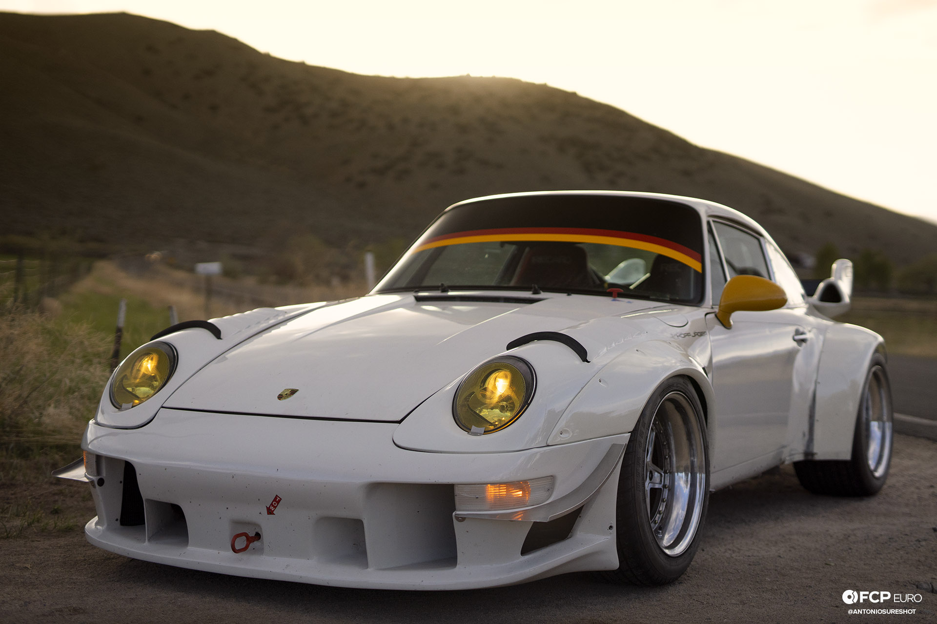 Turbocharged Porsche 911E