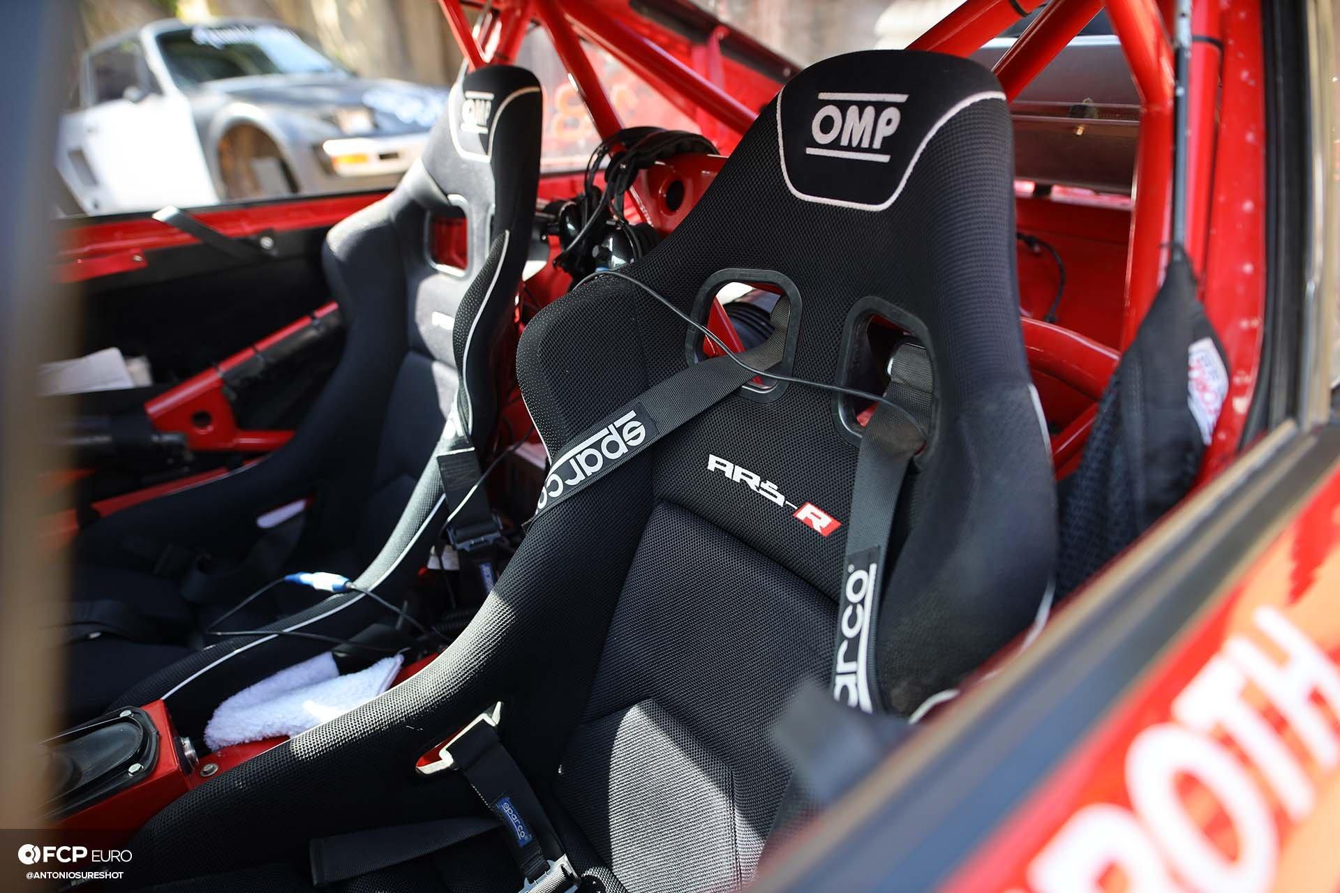 OMP ARS-R bucket seat Safari 964 Rothsport Racing Porsche 911 Rally Car Mexican 1000 Luftgekuhlt Olympus Rally
