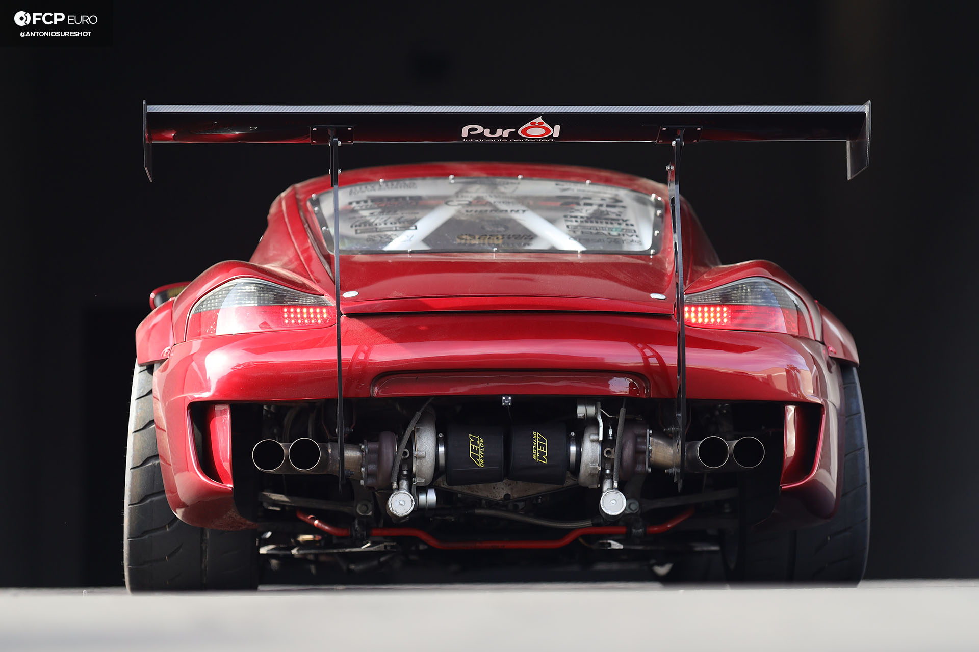 Bisimoto Boxster 986 Twin Turbo: Could This Be The Ultimate
