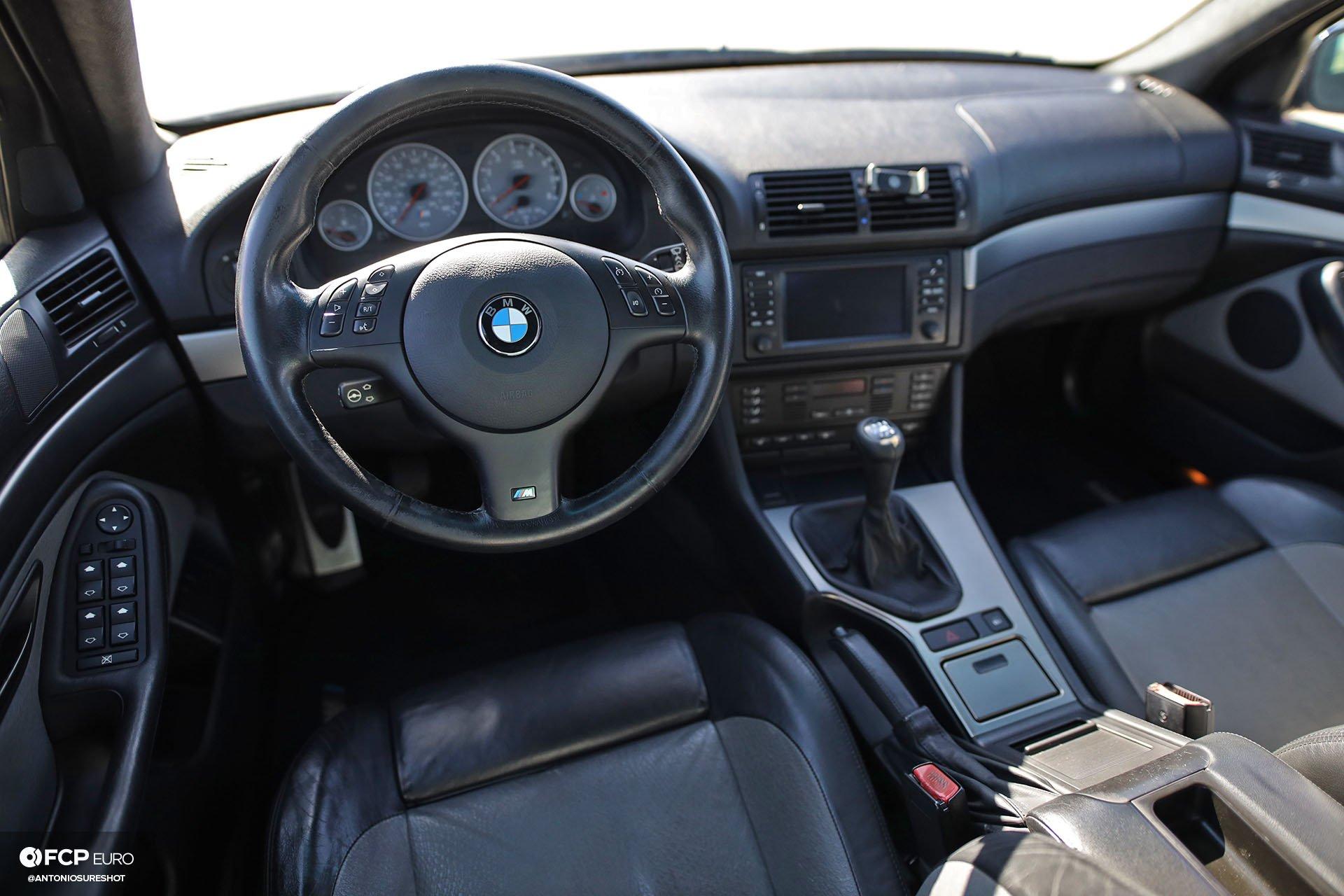 E39 BMW M5 S62 MotoIQ Advan Wheels KW Suspension Stoptech