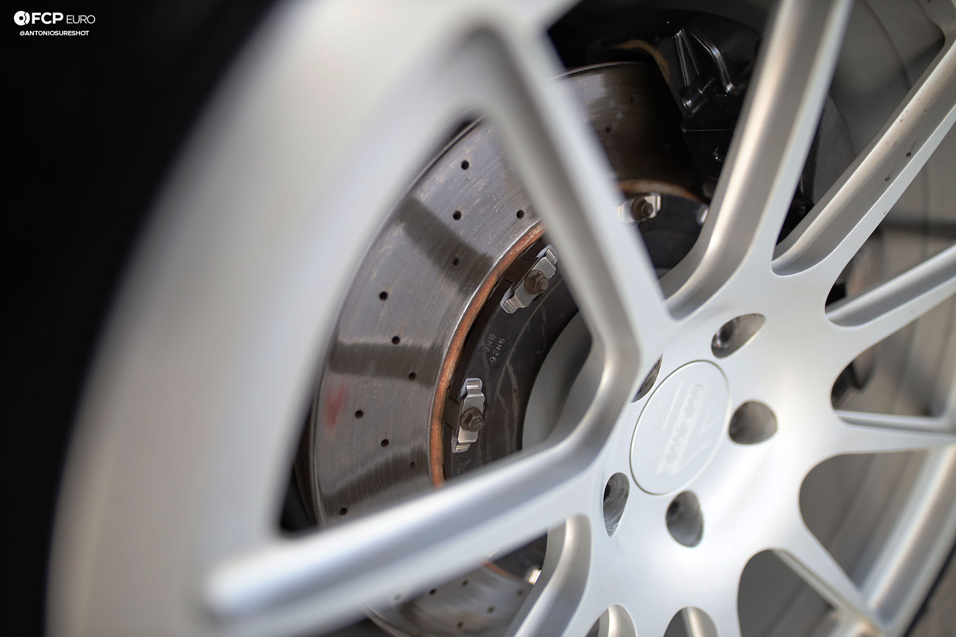 B7 Audi RS4 Cross Drilled floating brake rotors