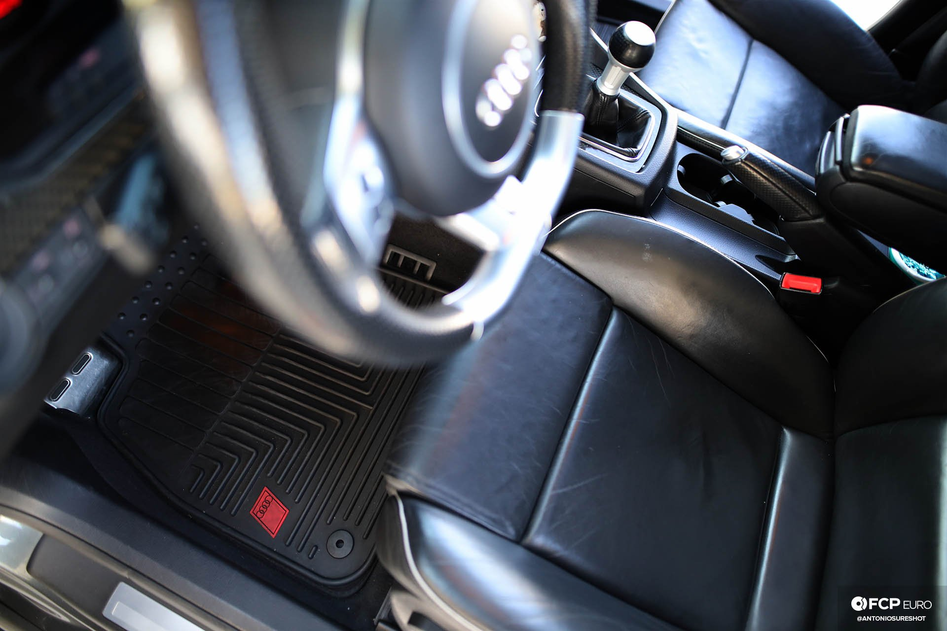 B7 Audi RS4 interior floor mats