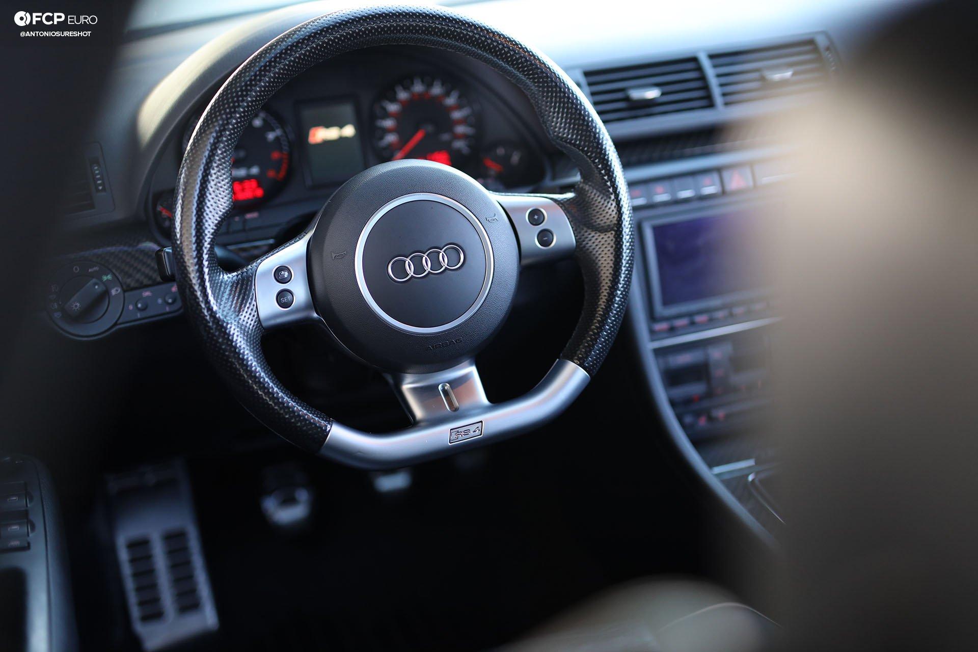 B7 Audi RS4 steering wheel