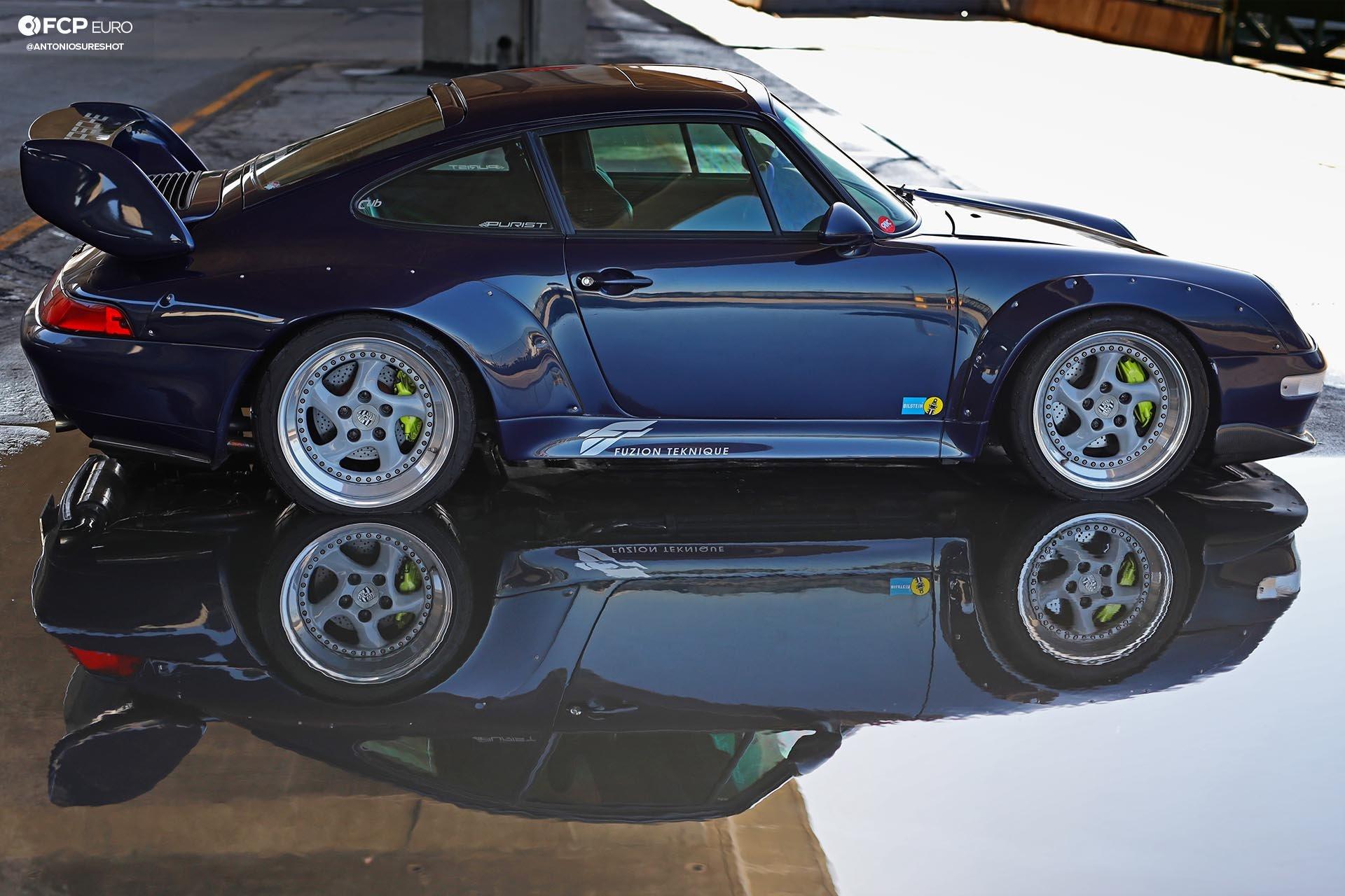 1996 Porsche 911 Carrera 993 RWB profile