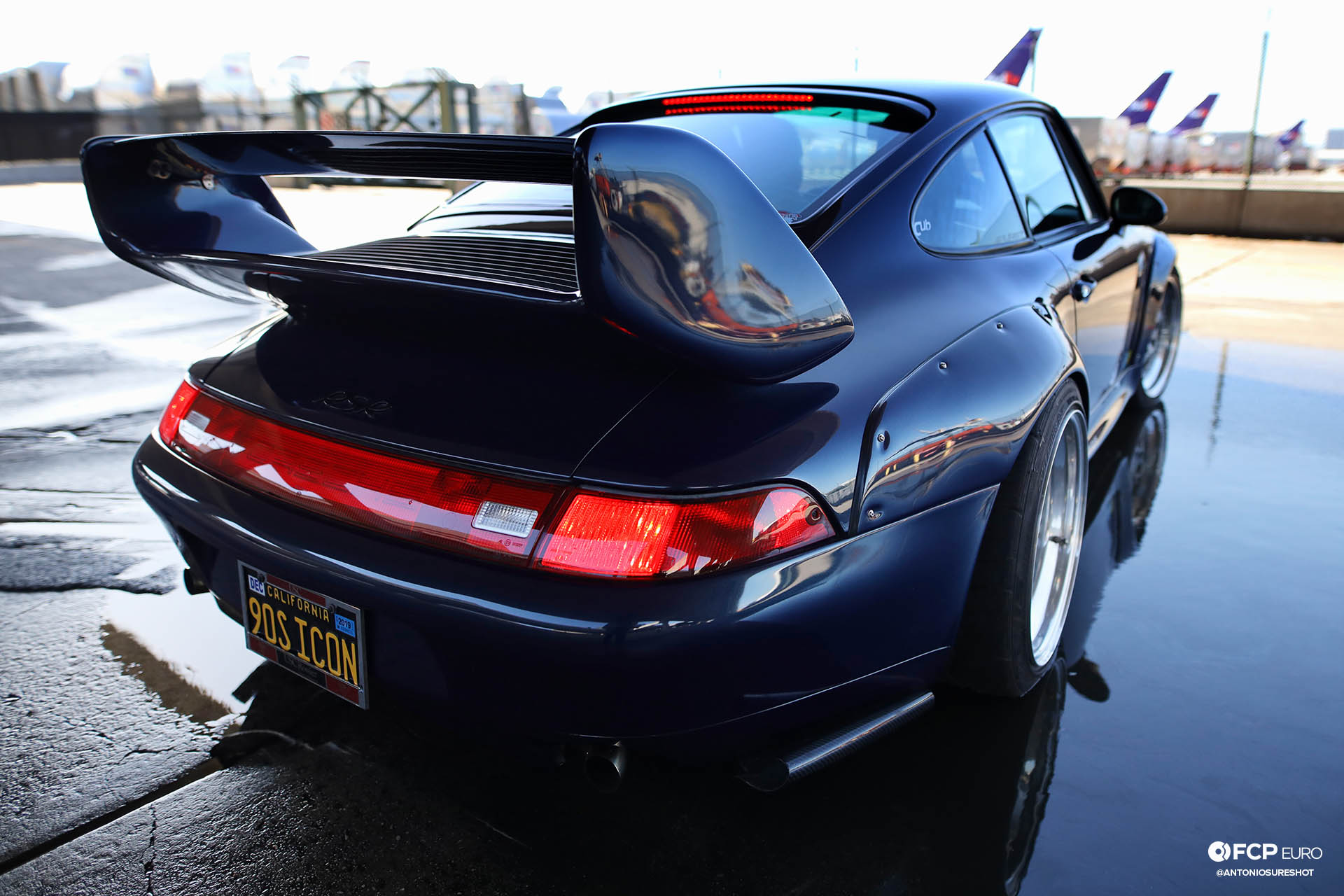 1996 Porsche 911 Carrera 993 RWB rear