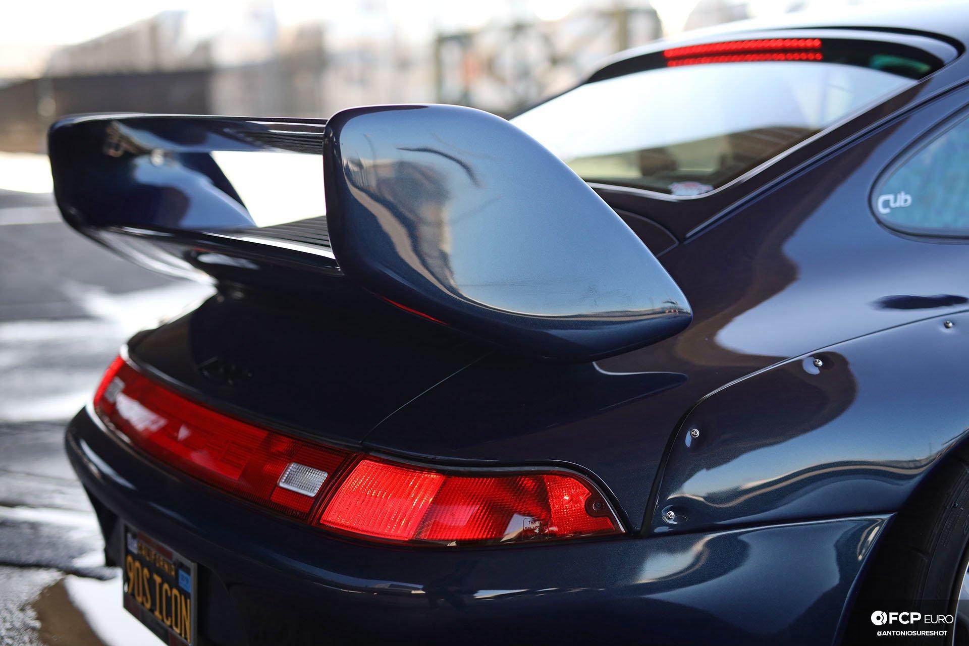 1996 Porsche 911 Carrera 993 RWB wing