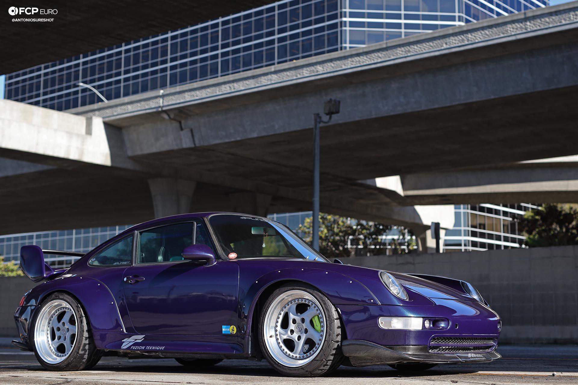 1996 Porsche 911 Carrera 993 RWB 3/4