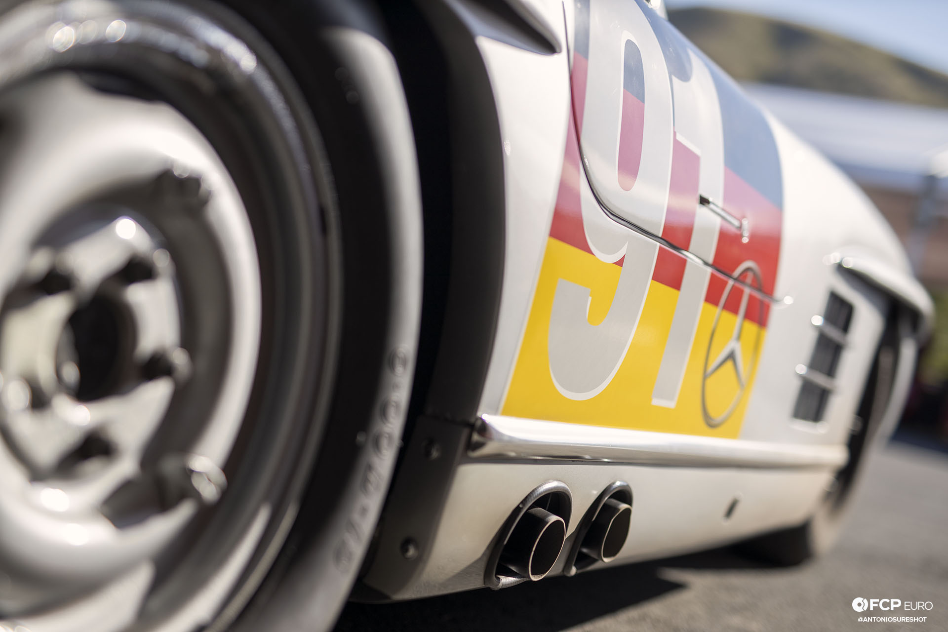 Mercedes-Benz 300SL Gullwing W198 Sonoma Speed Festival Alex Curtis