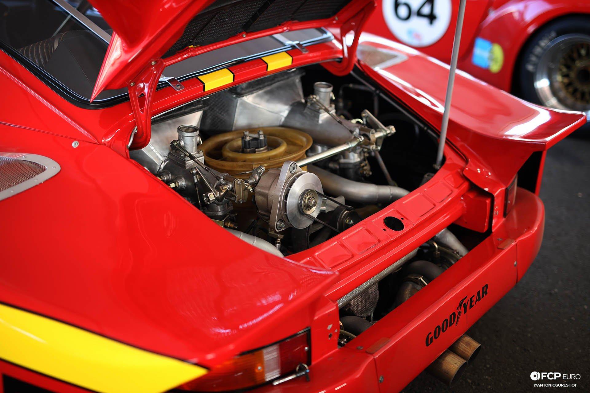 Momo Porsche 935 Alan Terpins Gianpiero Moretti Luftgekuhlt BBS Wheels Sonoma Speed Festival Antonio Alvendia