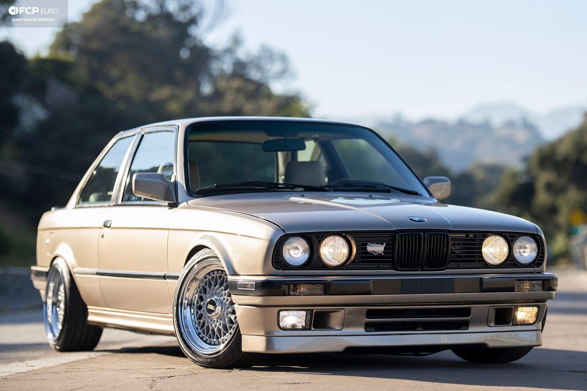 E30 1991 BMW 325i BBS RS BMWCCA Bimmerfest M20