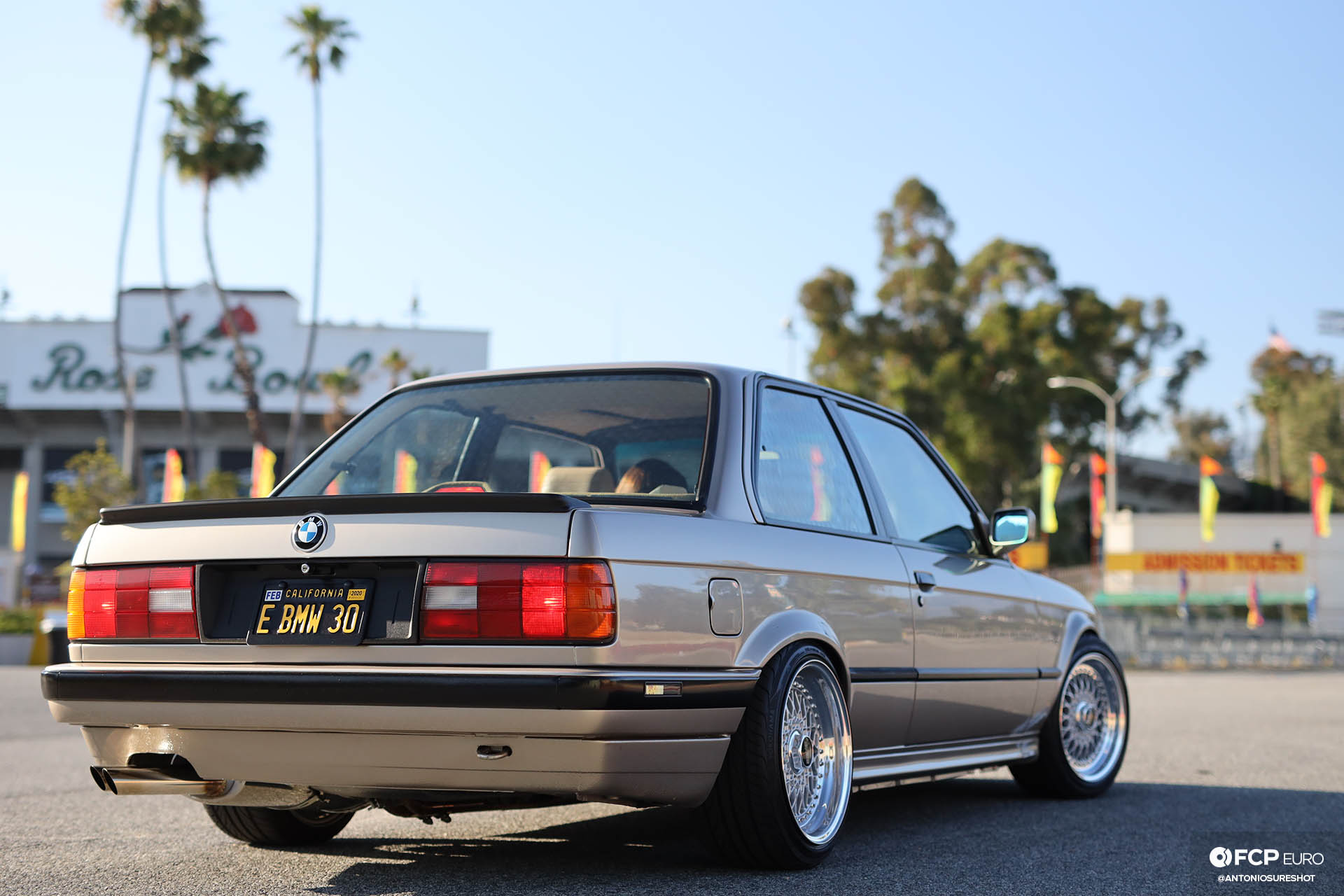 E30 1991 BMW 325i BBS RS BMWCCA Bimmerfest M20 Ireland Engineering