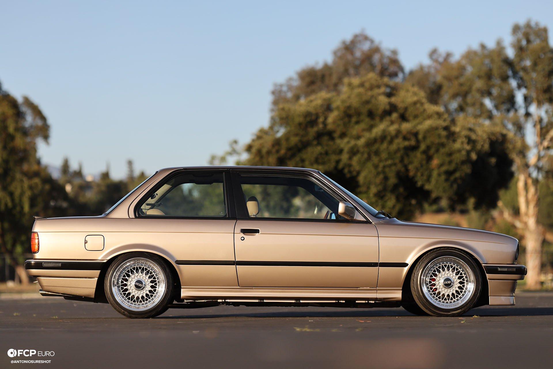 E30 1991 BMW 325i BBS RS BMWCCA Bimmerfest