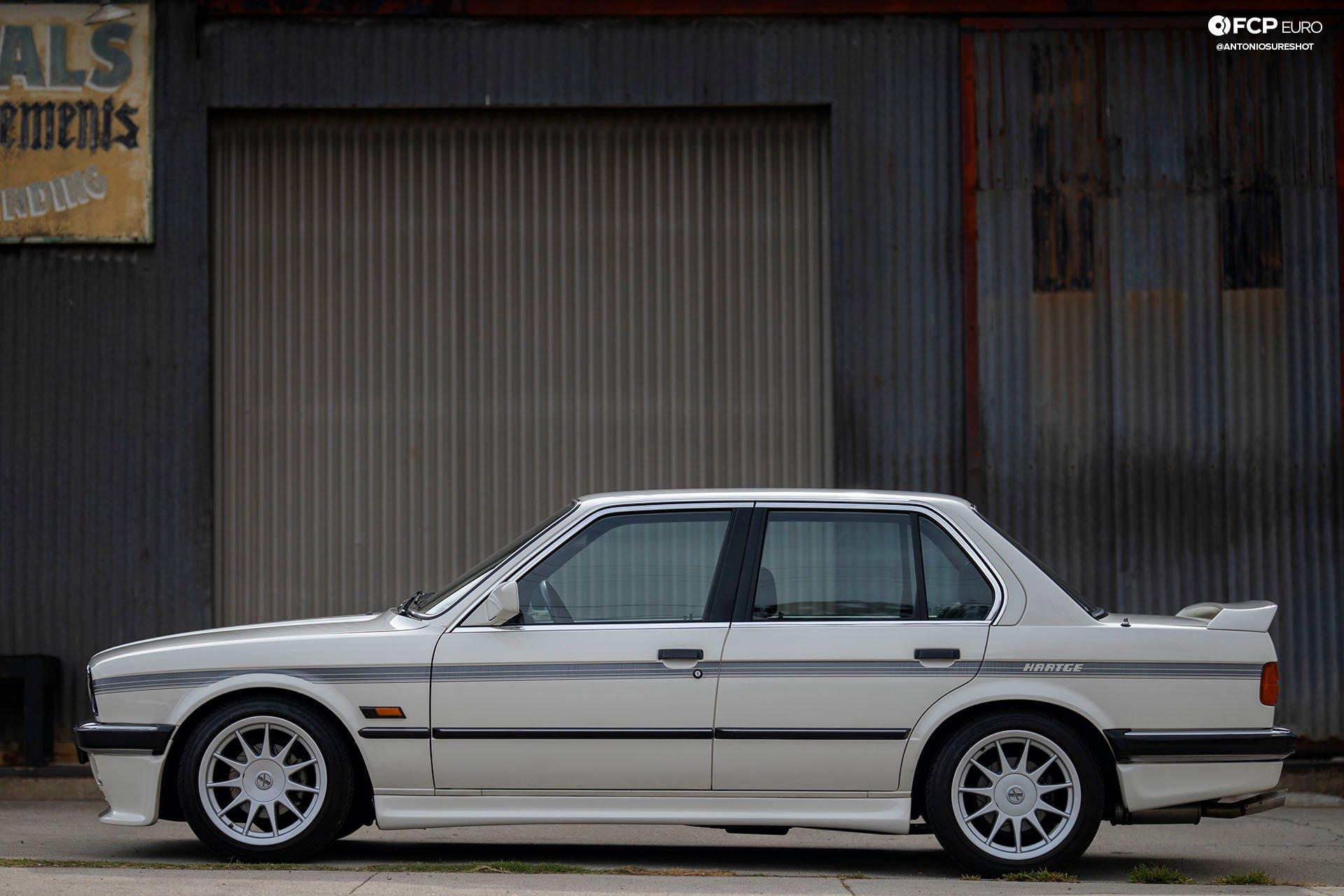 E30 BMW Hartge H26 Profile Shot
