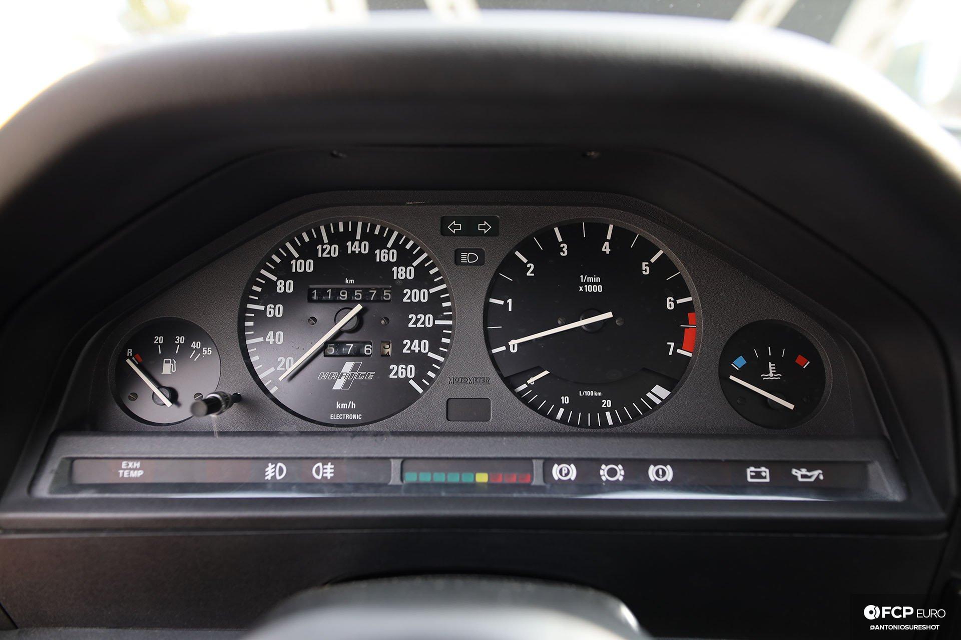 E30 BMW Hartge H26 Gauge Cluster