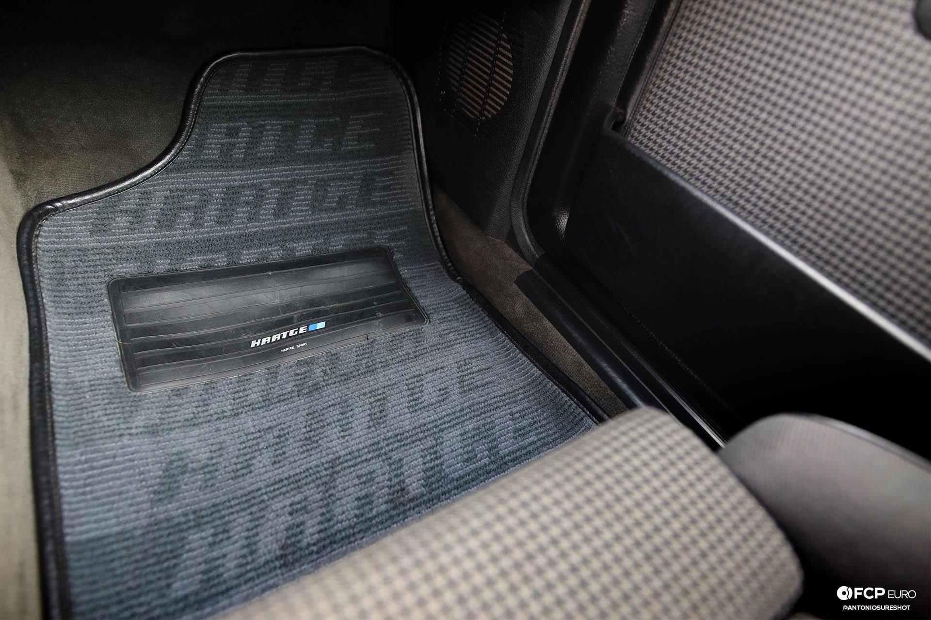 E30 BMW Hartge H26 Floor Mats