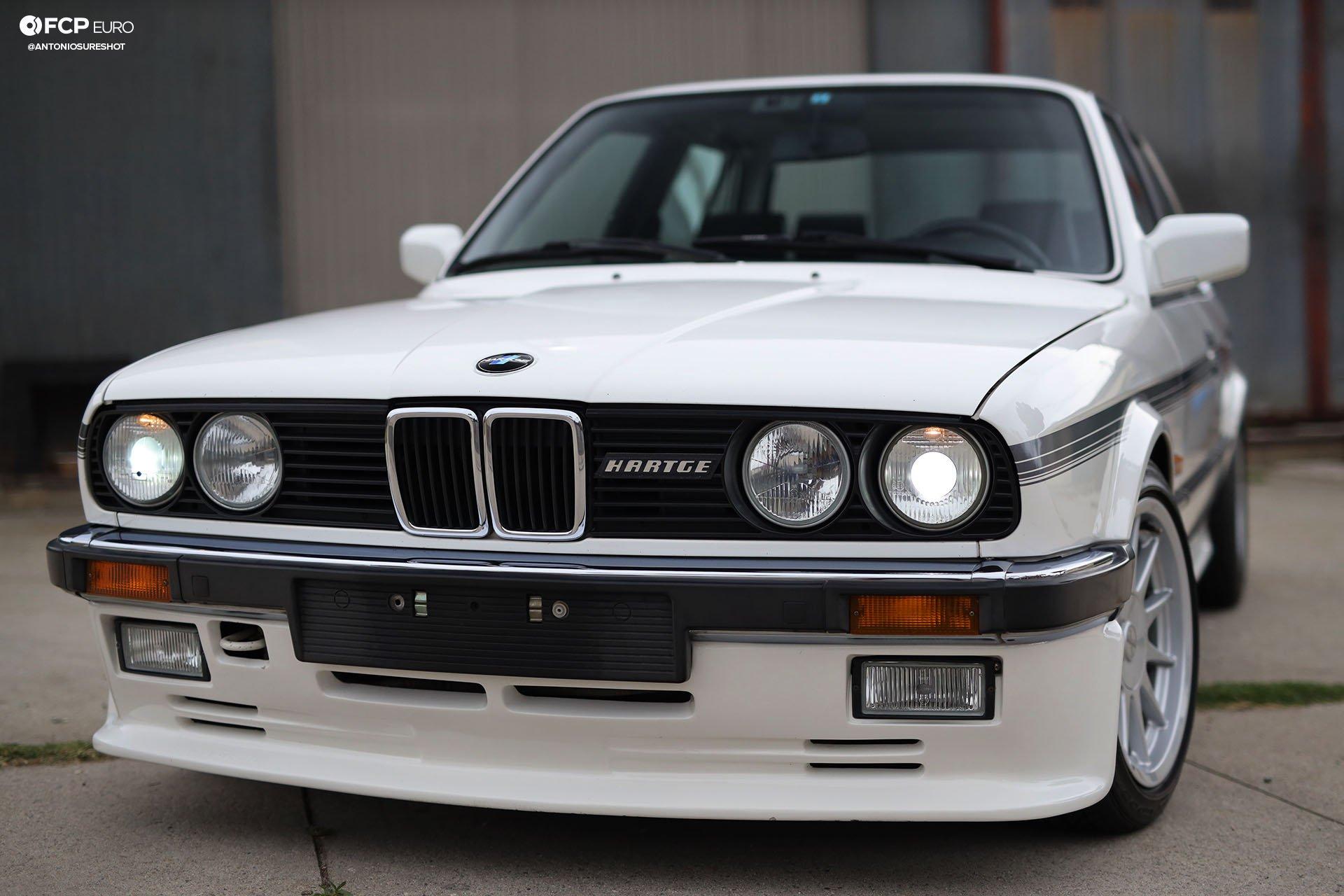E30 BMW Hartge H26 Front 3/4