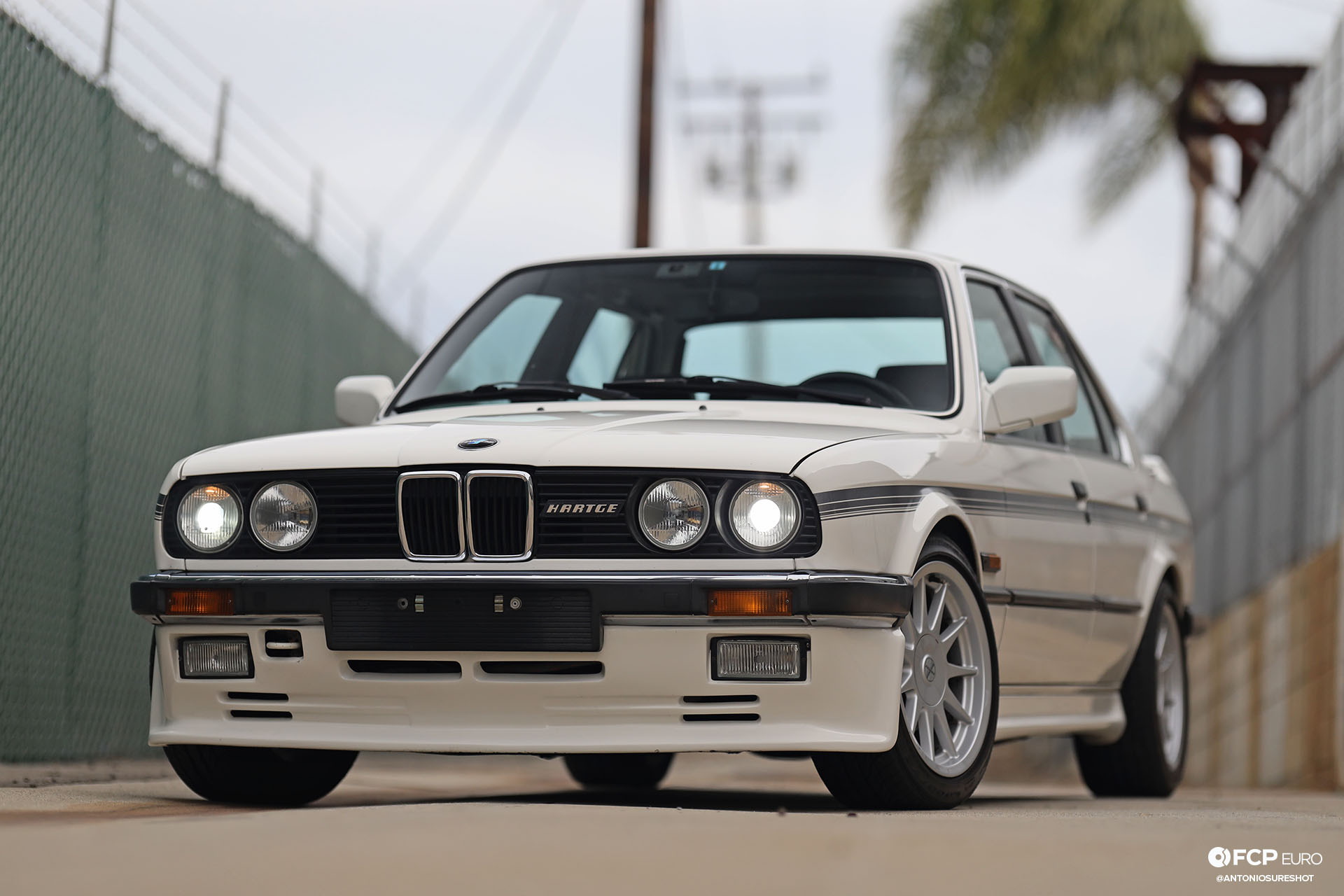 E30 BMW Hartge H26 Frnt End