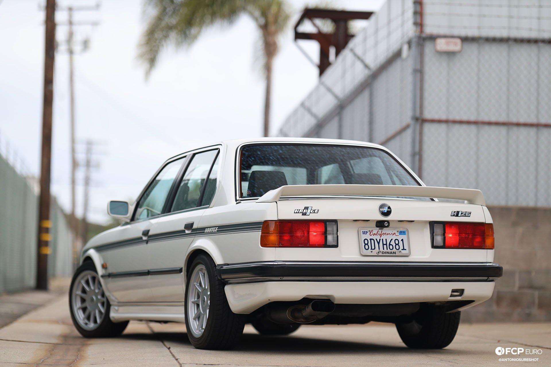 E30 BMW Hartge H26 Rear 3/4