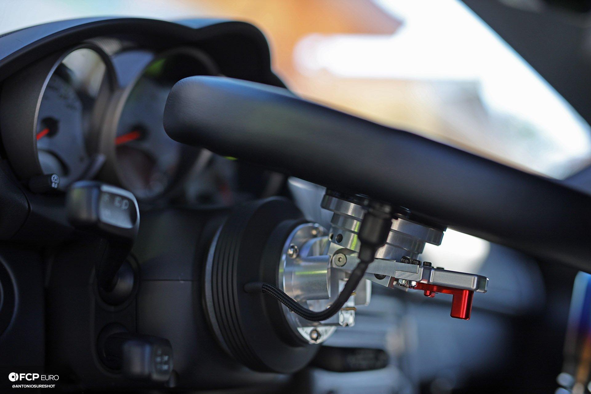 Works Bell hub Pandem Widebody Porsche Cayman S Toyo Tires Moton Suspension Work Meister Tarett Brembo Voltex Recaro Dionne Mascunana