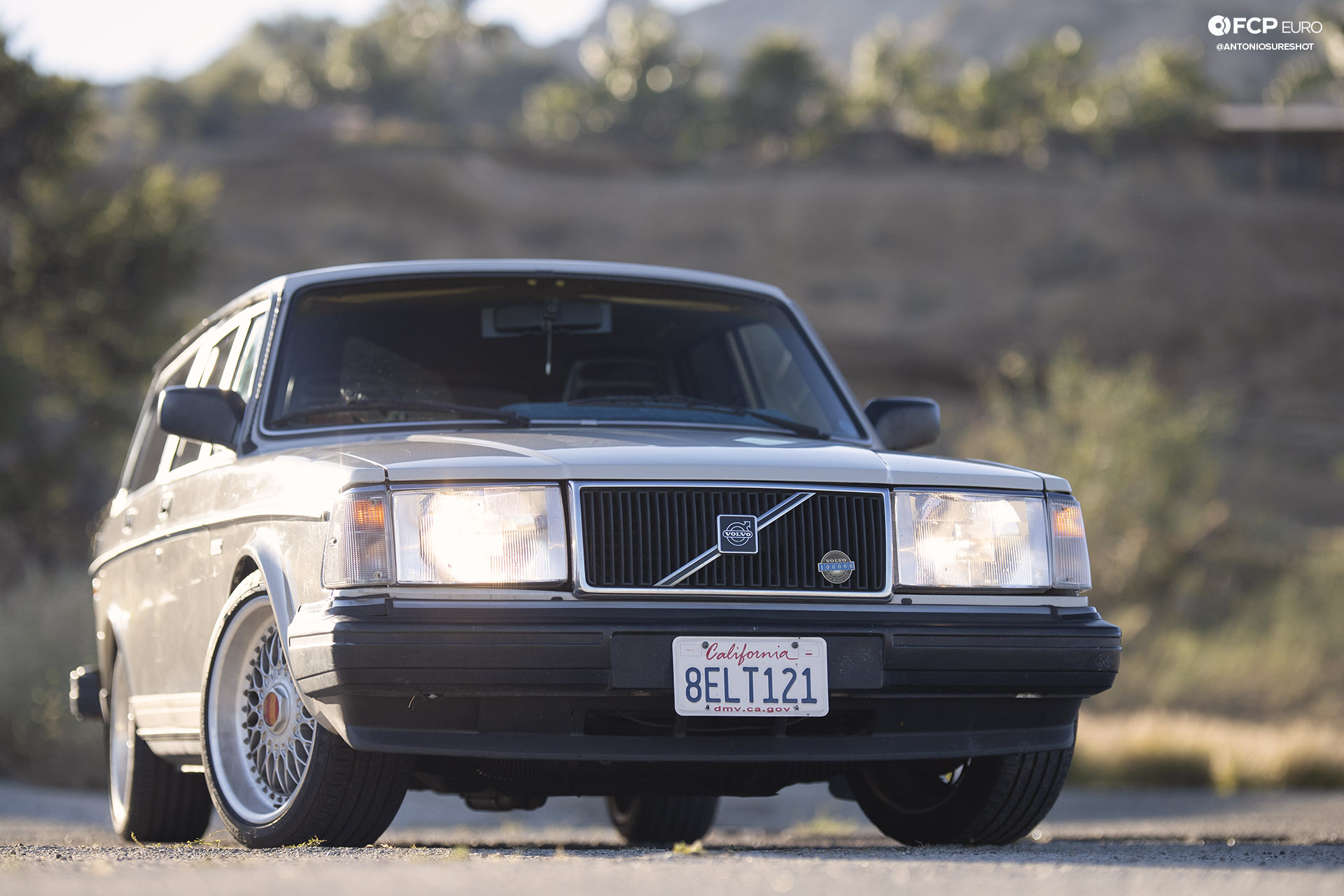 Volvo 245 Wagon BBS Wheels