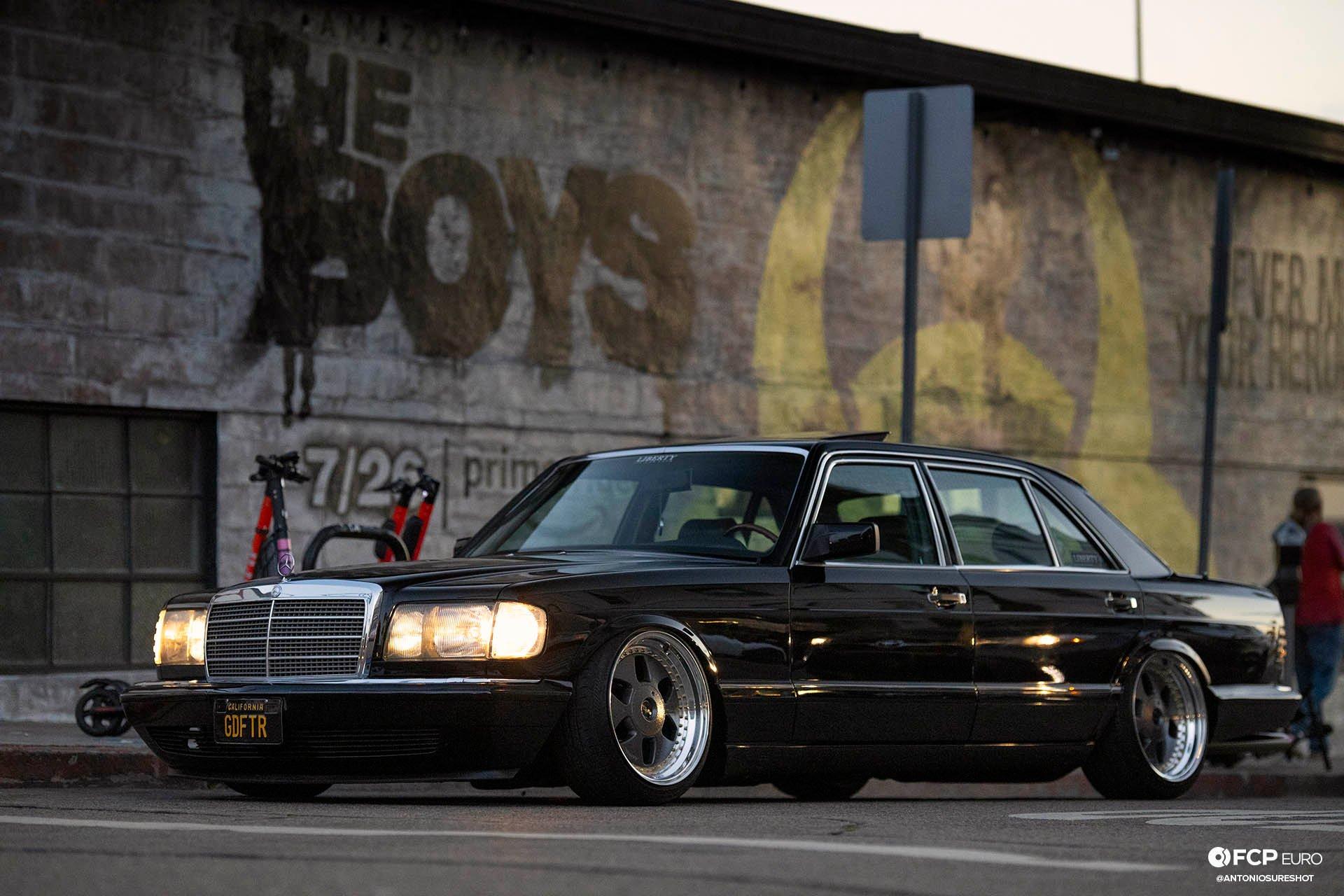 Liberty VIP Mercedes-Benz 420SEL LWB The Boys Venice Beach