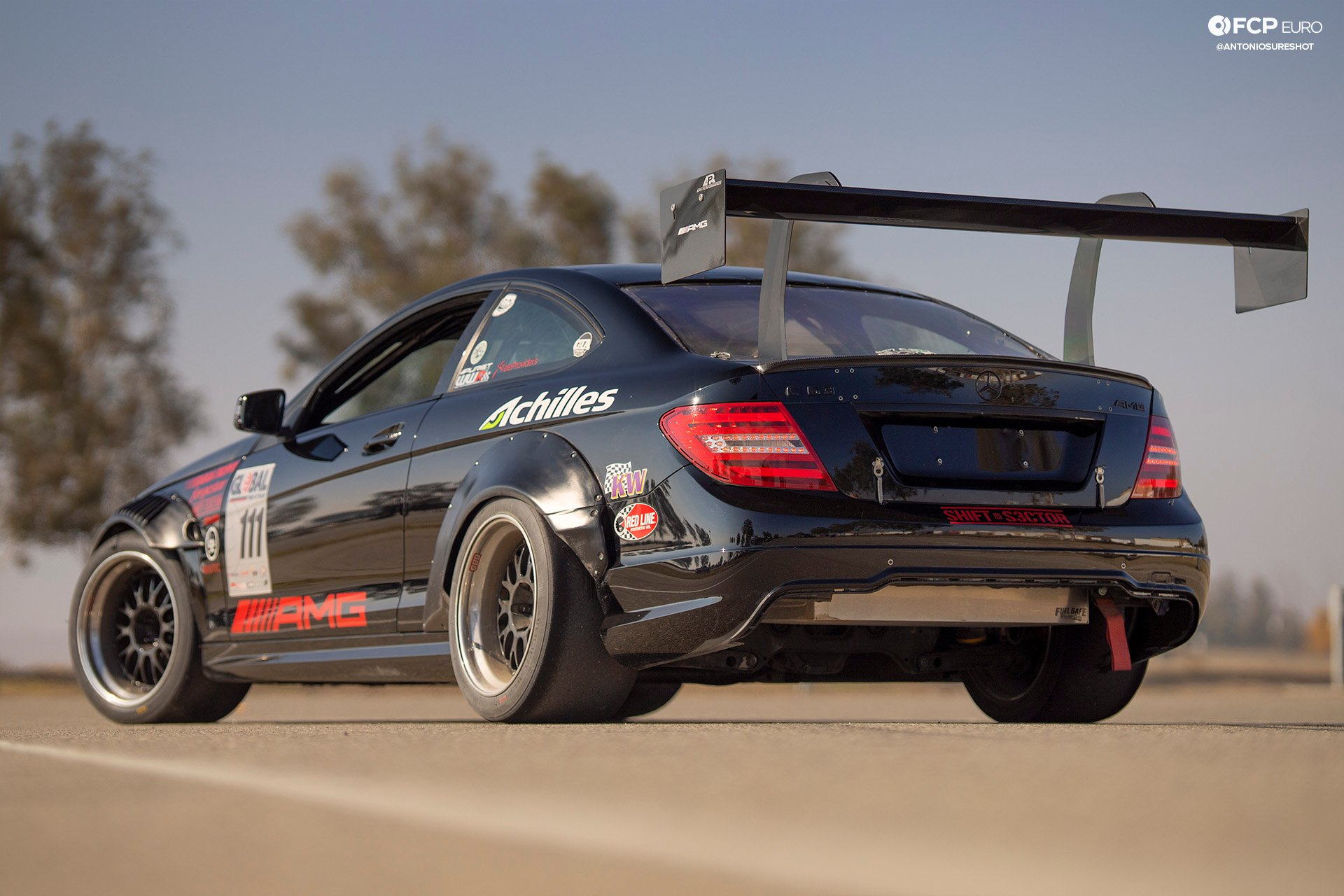 Global Time Attack AMG C63 Coupe EOSR3491