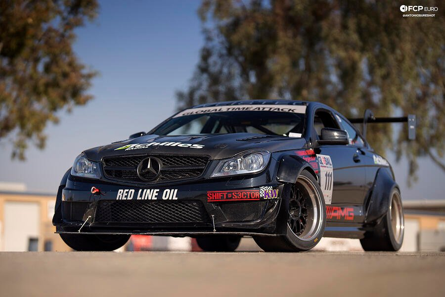 Global Time Attack AMG C63 Coupe EOSR3507 crop