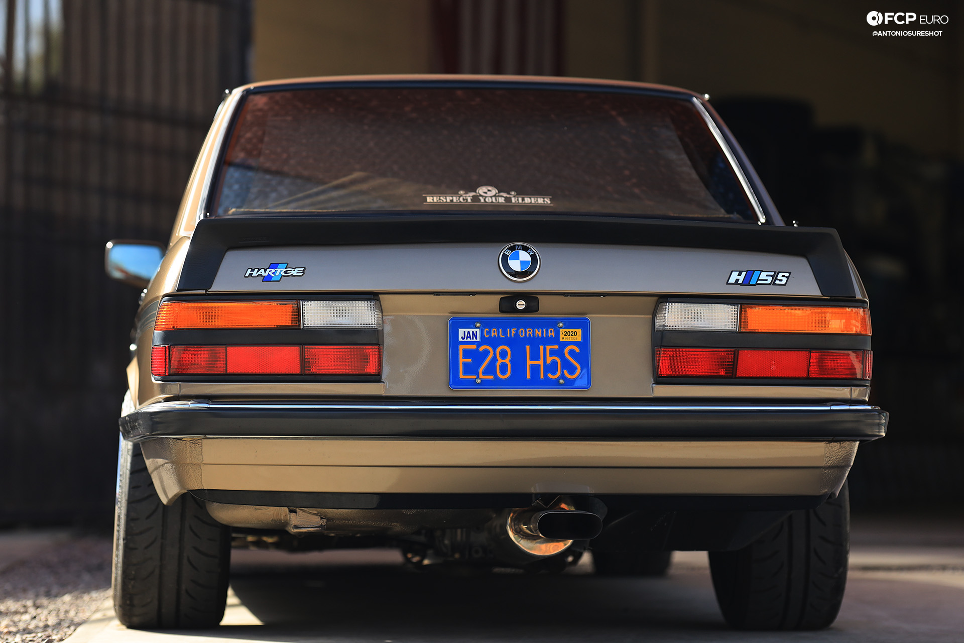 Hartge E28 BMW 535i EOSR5563