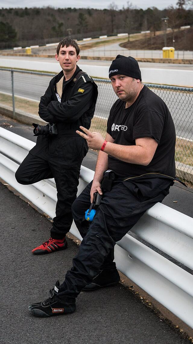 Tom and Gareth at Road Atlanta