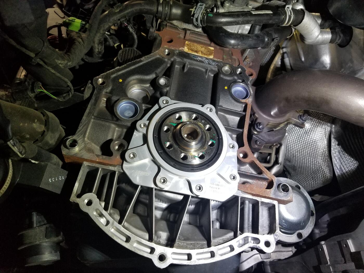 iAbed Rear Main Seal Installed on TSI