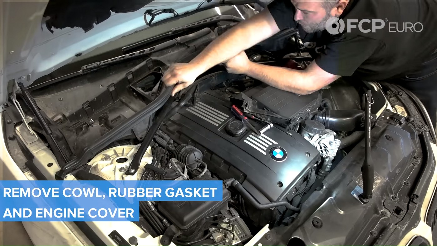 N54 Injectors Cowl Removal