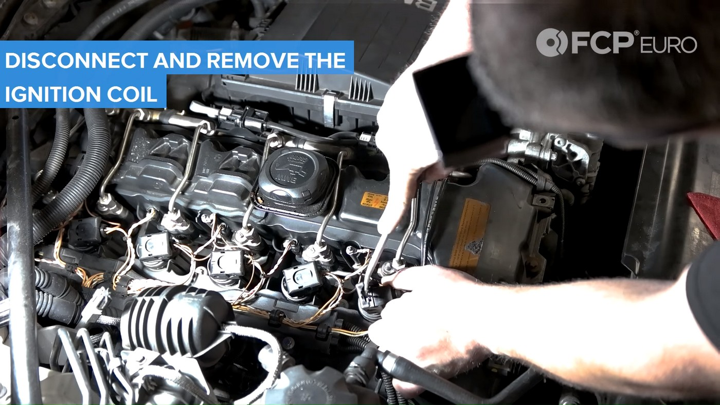 N54 Injectors Coil Removal