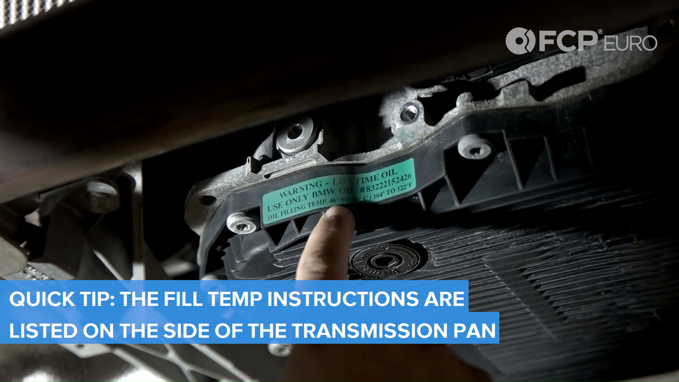 BMW Automatic Trans Temperatures