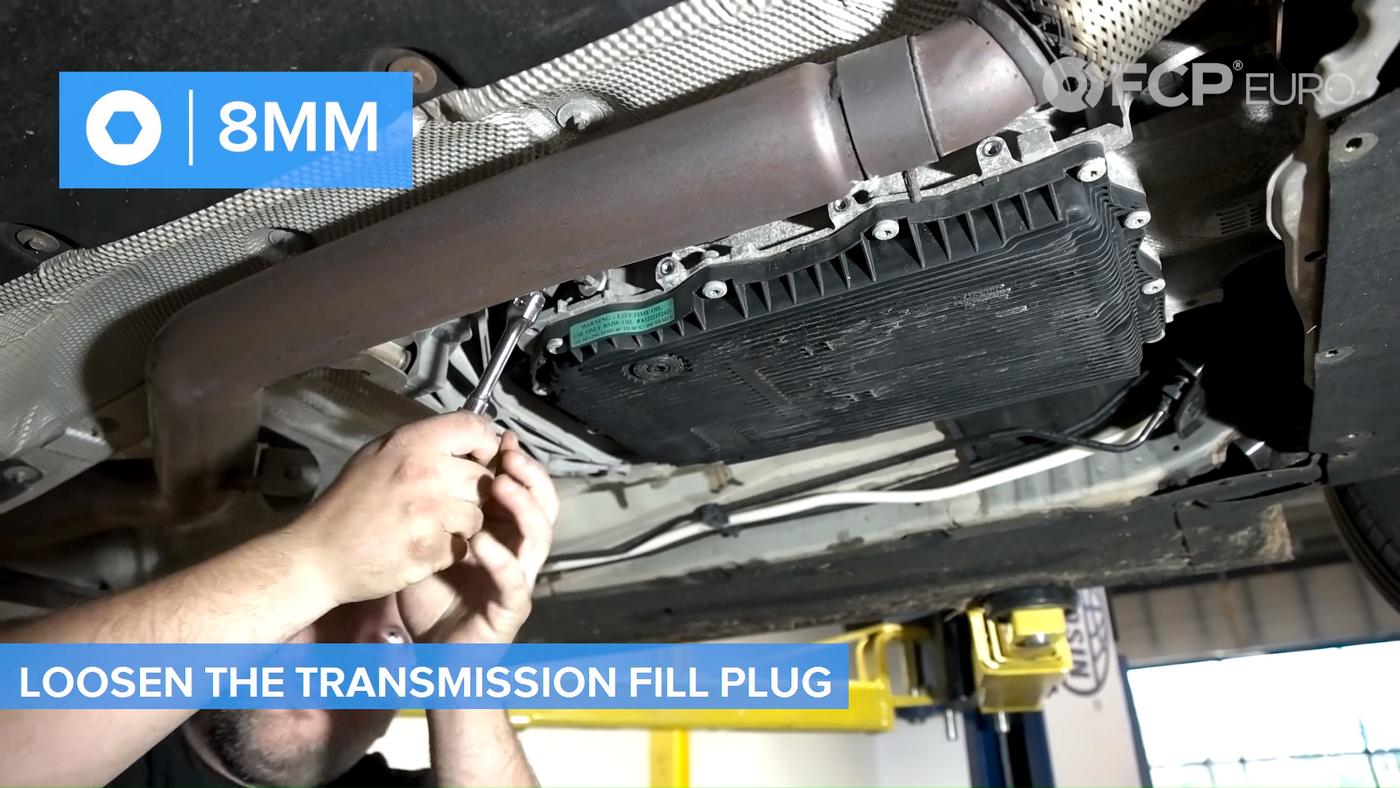 F30 Transmission Fill Plug