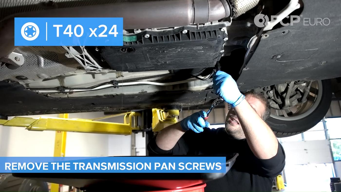 F30 Transmission Pan Screws
